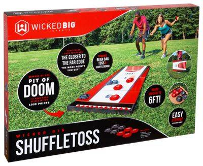 Wicked Big Sports Shuffle Toss Outdoor Game Set
