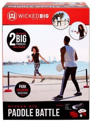 Wicked Big Sports Paddle Battle Outdoor Game Set