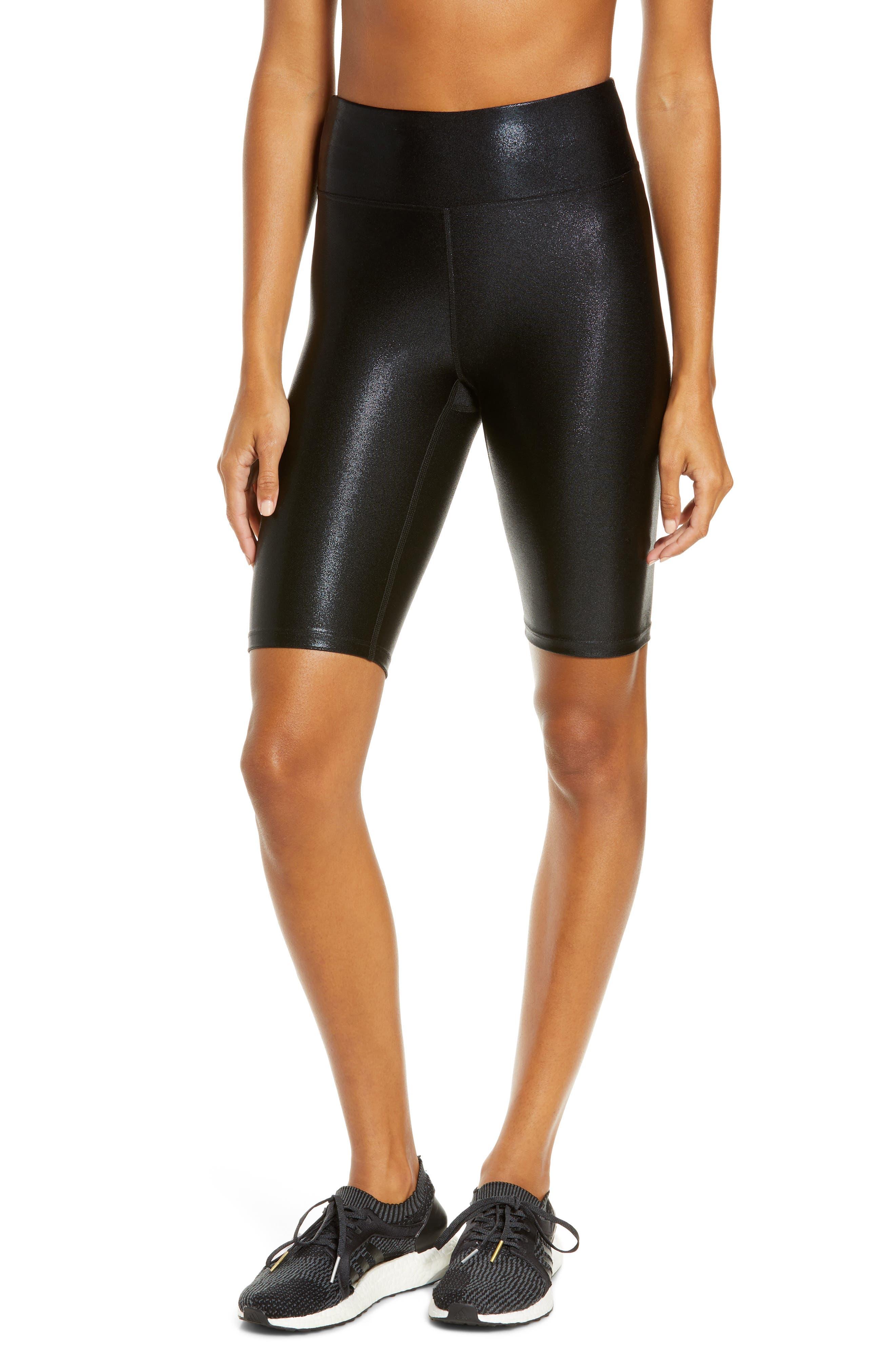 Heroine Sport Women's Heroine Sport Marvel Bike Shorts, Size Medium - Black