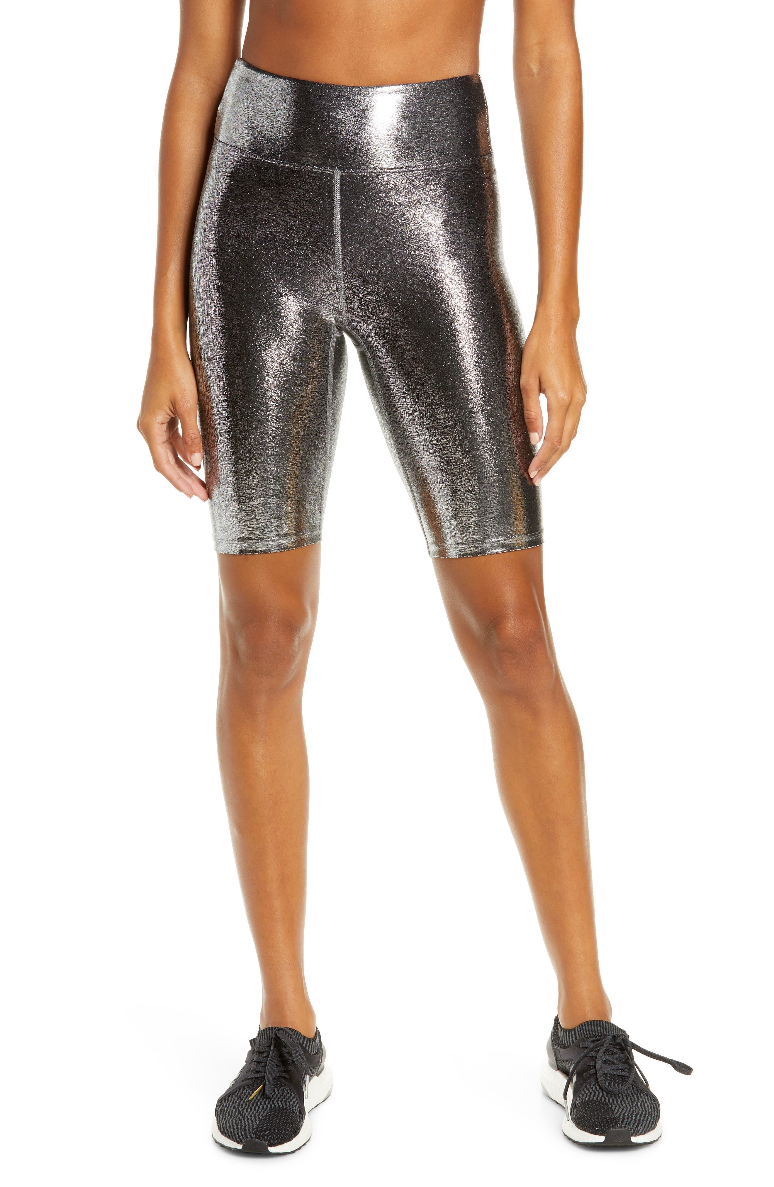 Heroine Sport Women's Heroine Sport Marvel Bike Shorts, Size X-Small - Grey