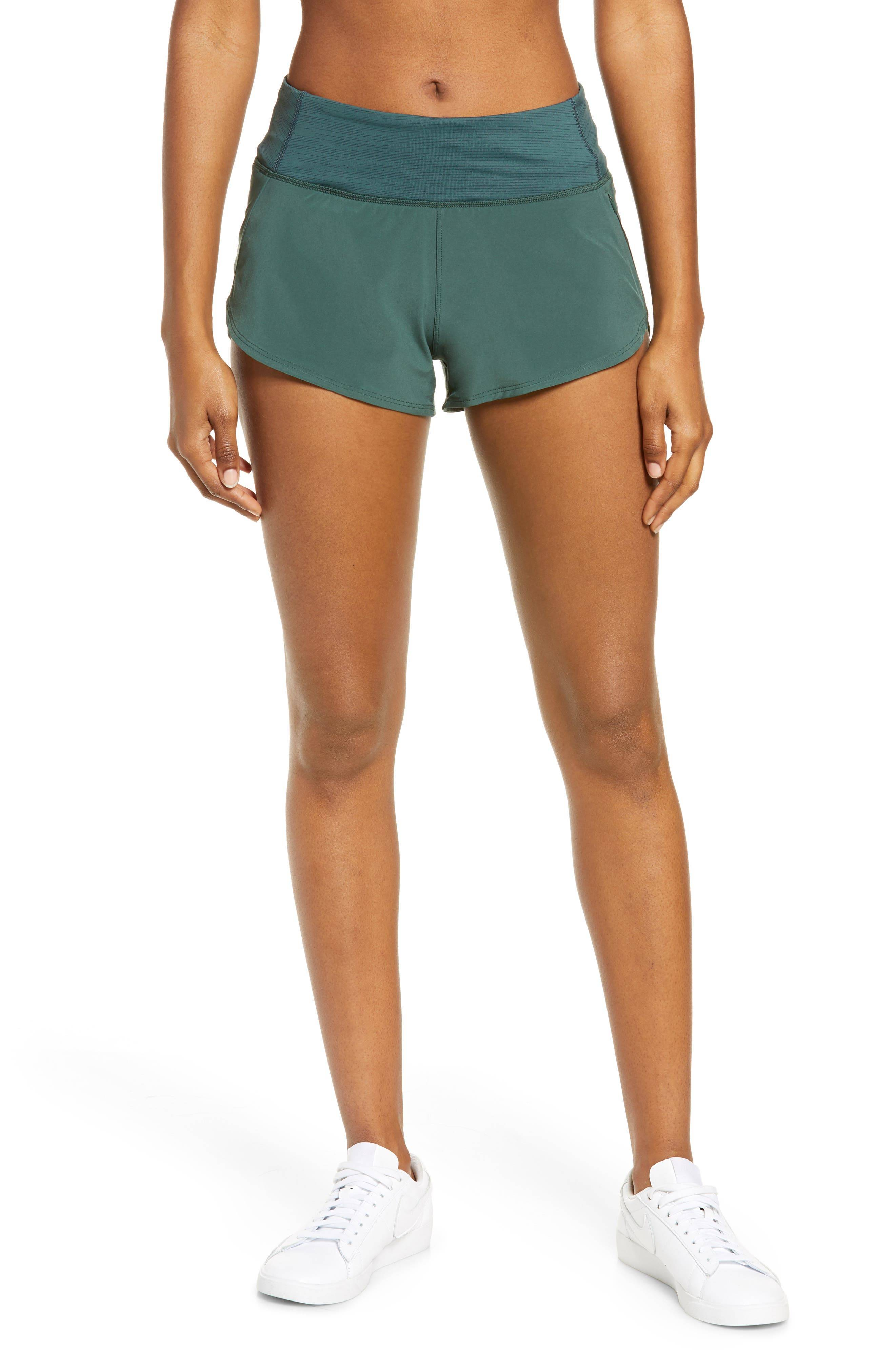 Outdoor Voices Women's Outdoor Voices Hudson Shorts, Size Small - Green