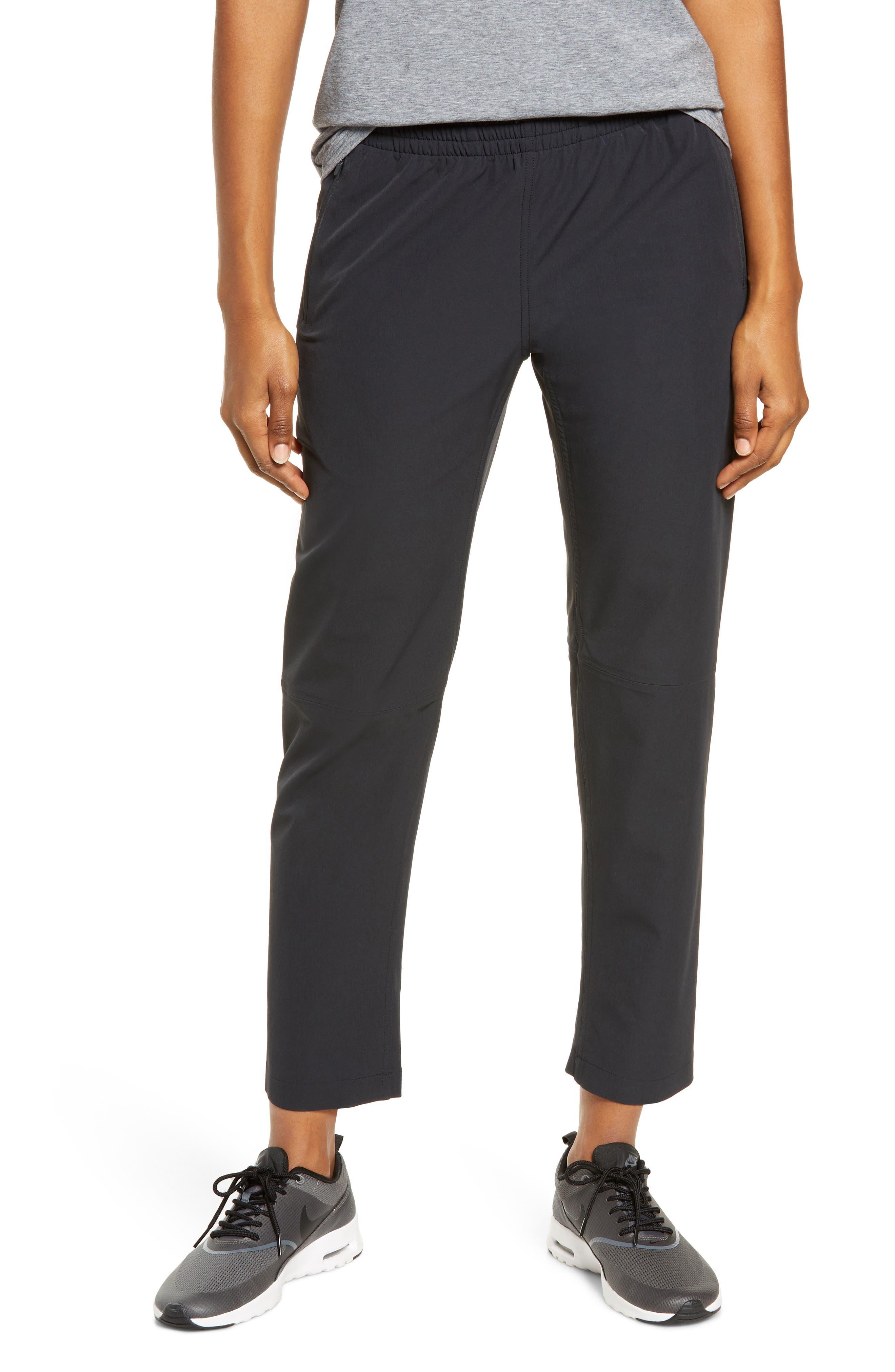 Outdoor Voices Women's Outdoor Voices Rectrek Pocket Ankle Pants, Size X-Large - Black