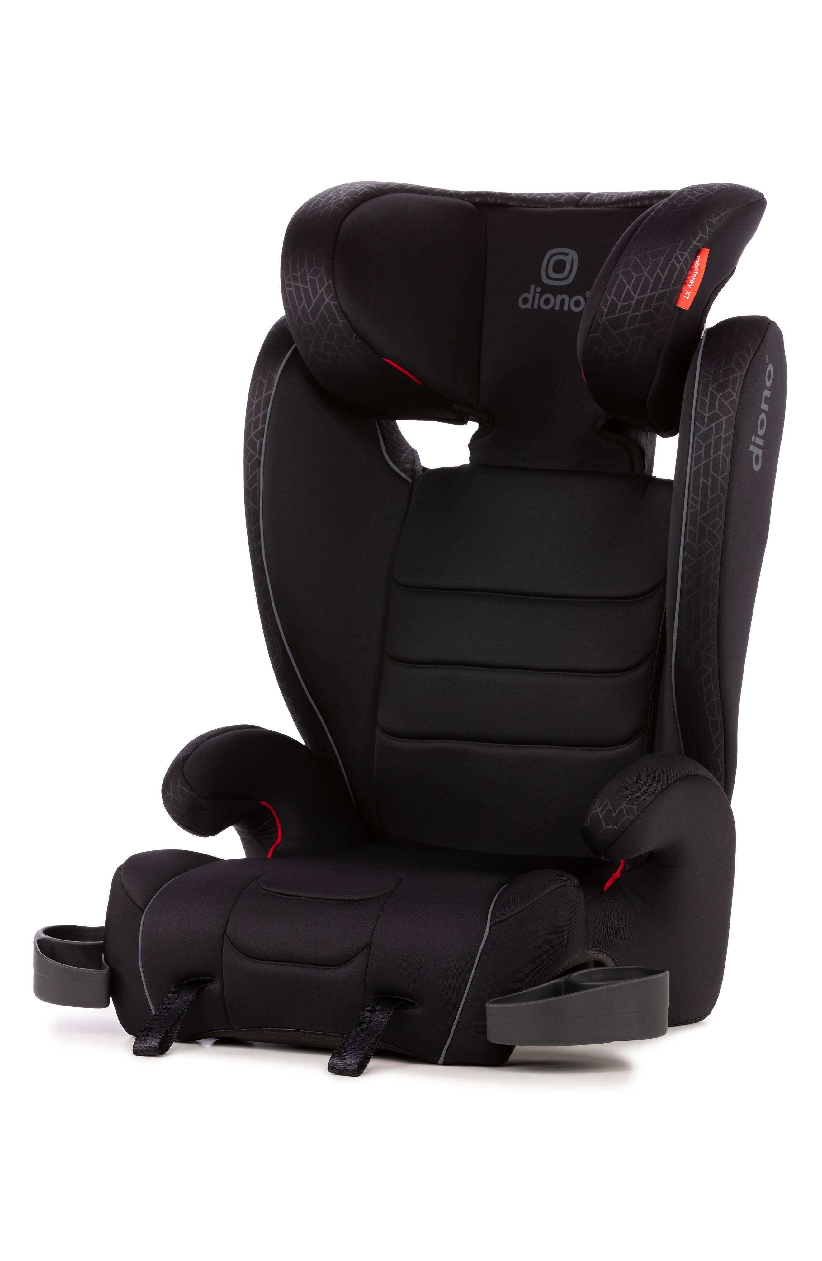 Diono Infant Diono Monterey Xt Expandable Highback Booster Car Seat, Size One Size - Black