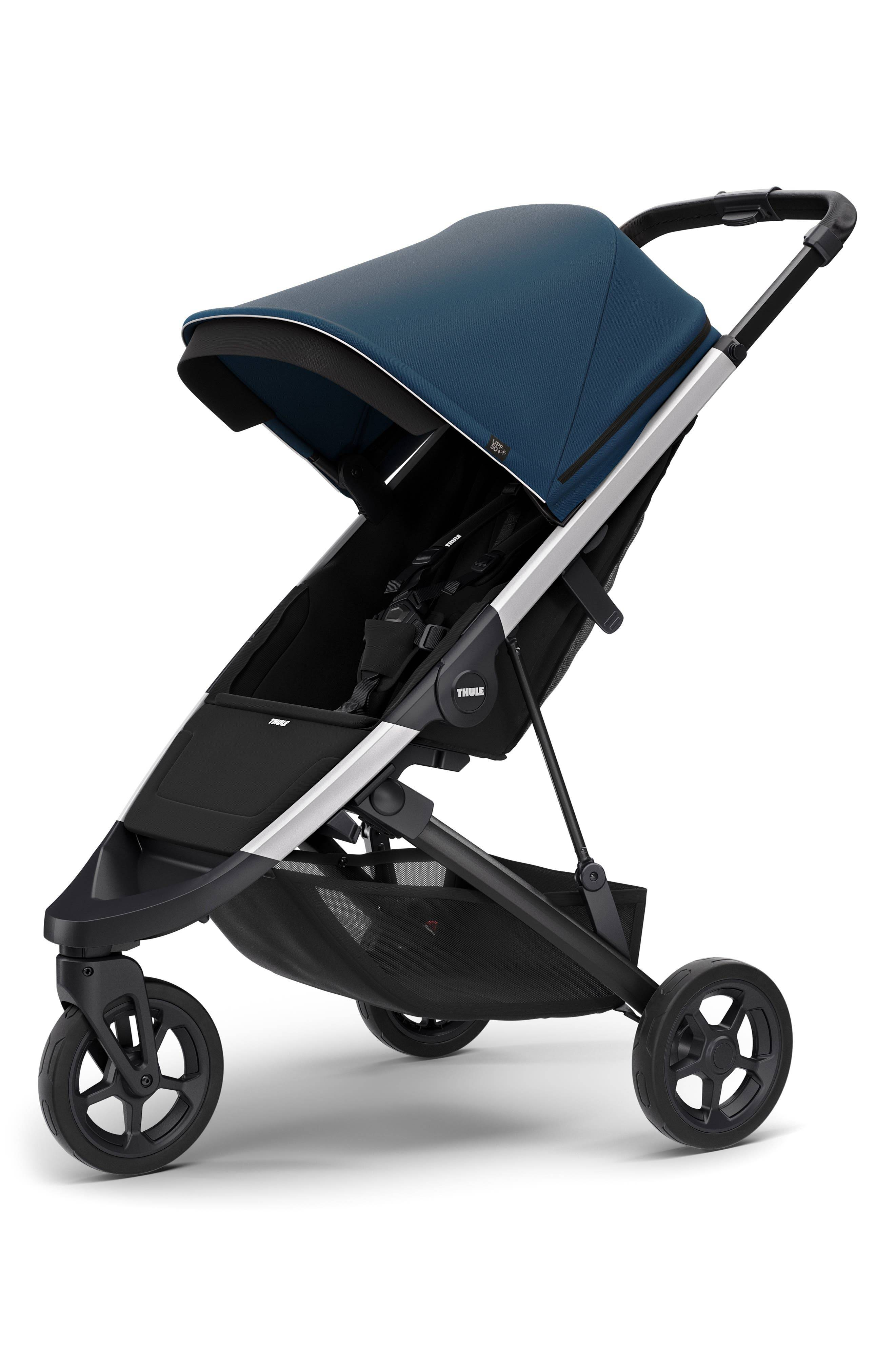 Thule Infant Thule Spring Stroller & Essentials Accessory Bundle, Size One Size - Blue