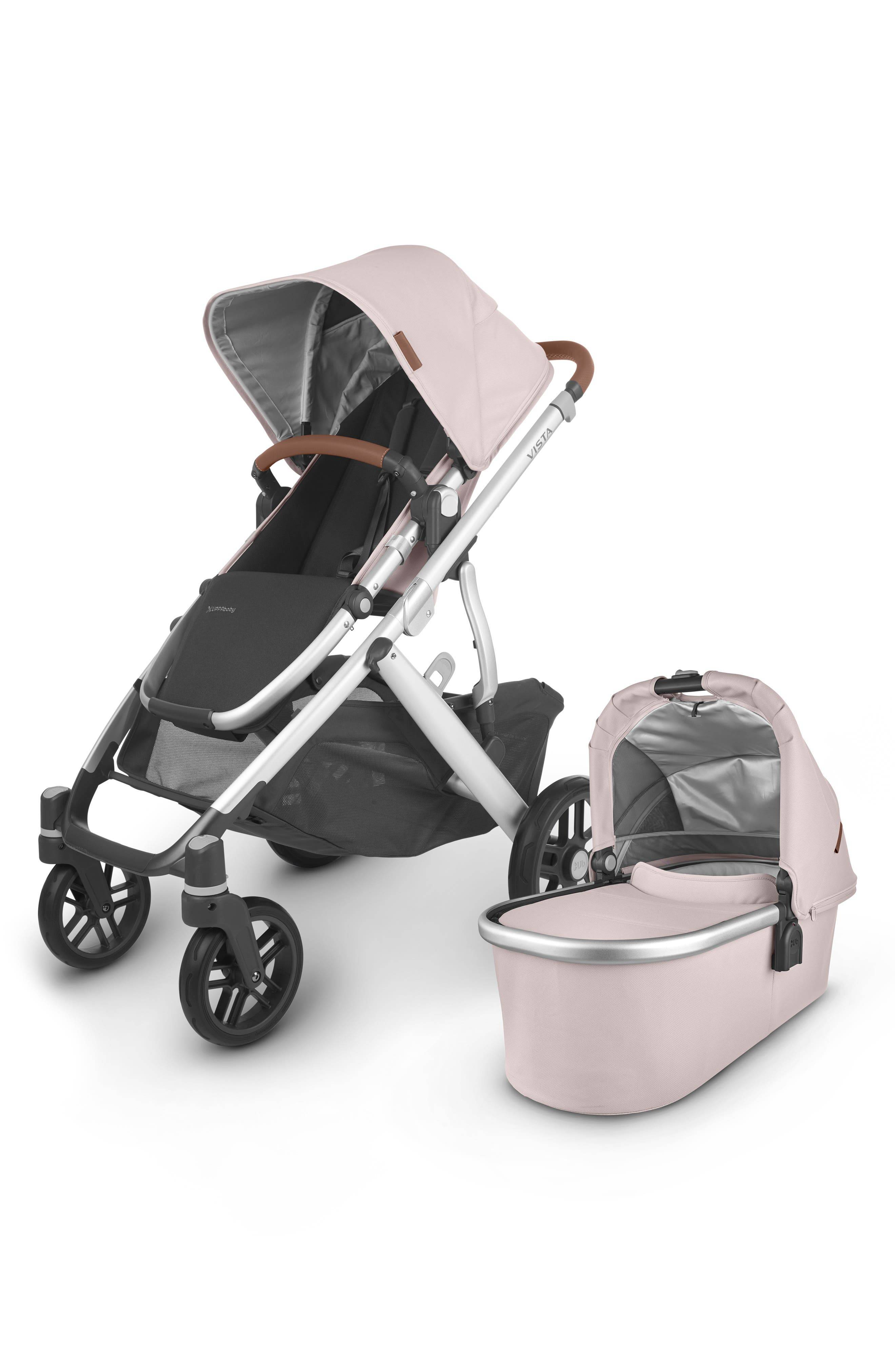 UPPAbaby Infant Uppababy Vista V2 Stroller With Bassinet, Size One Size - Pink