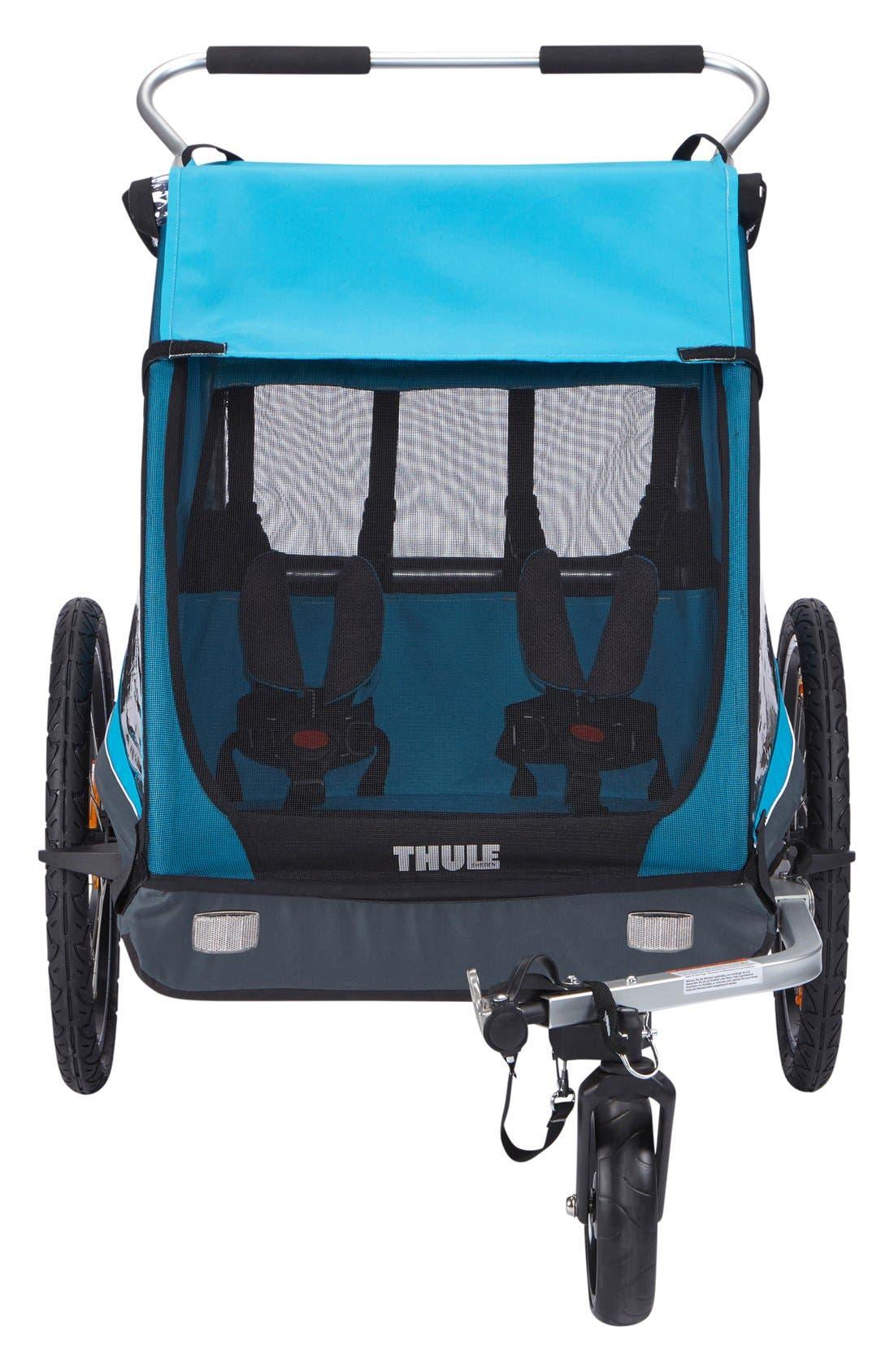 Thule Infant Thule Coaster Xt Double Seat Bike Trailer, Size One Size - Blue