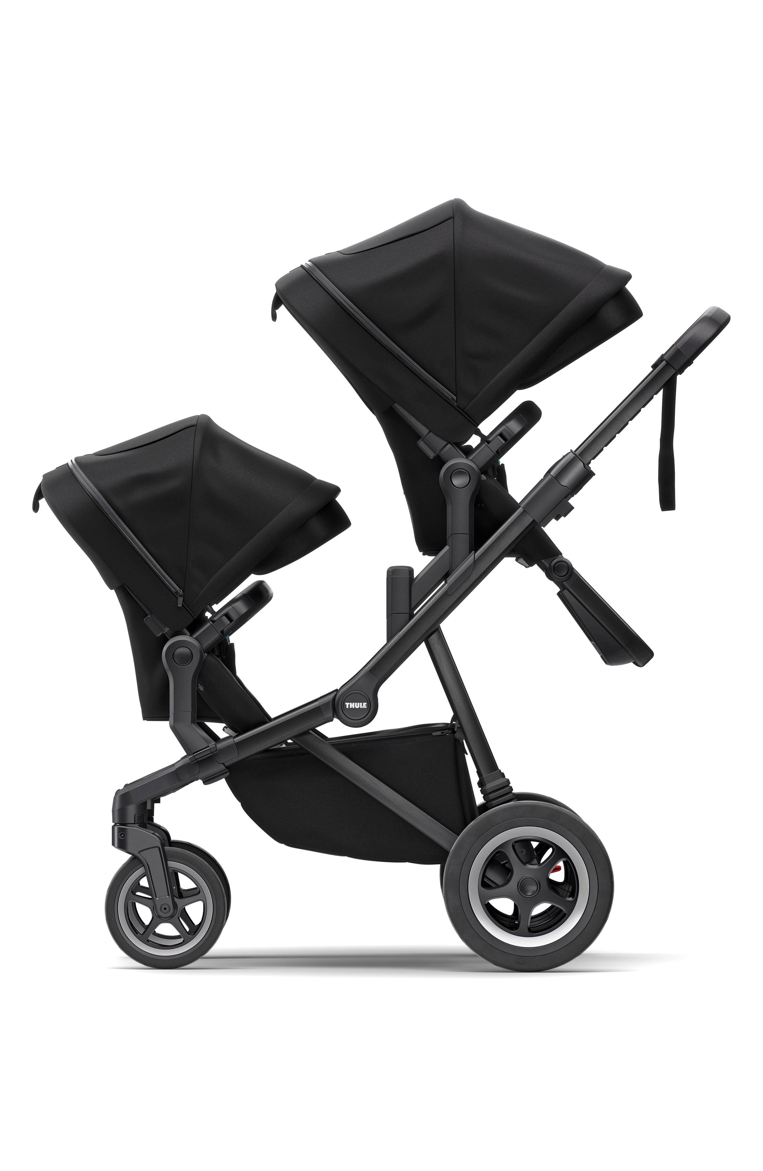Thule Infant Thule Sibling Seat Accessory For Thule Sleek Stroller, Size One Size - Black