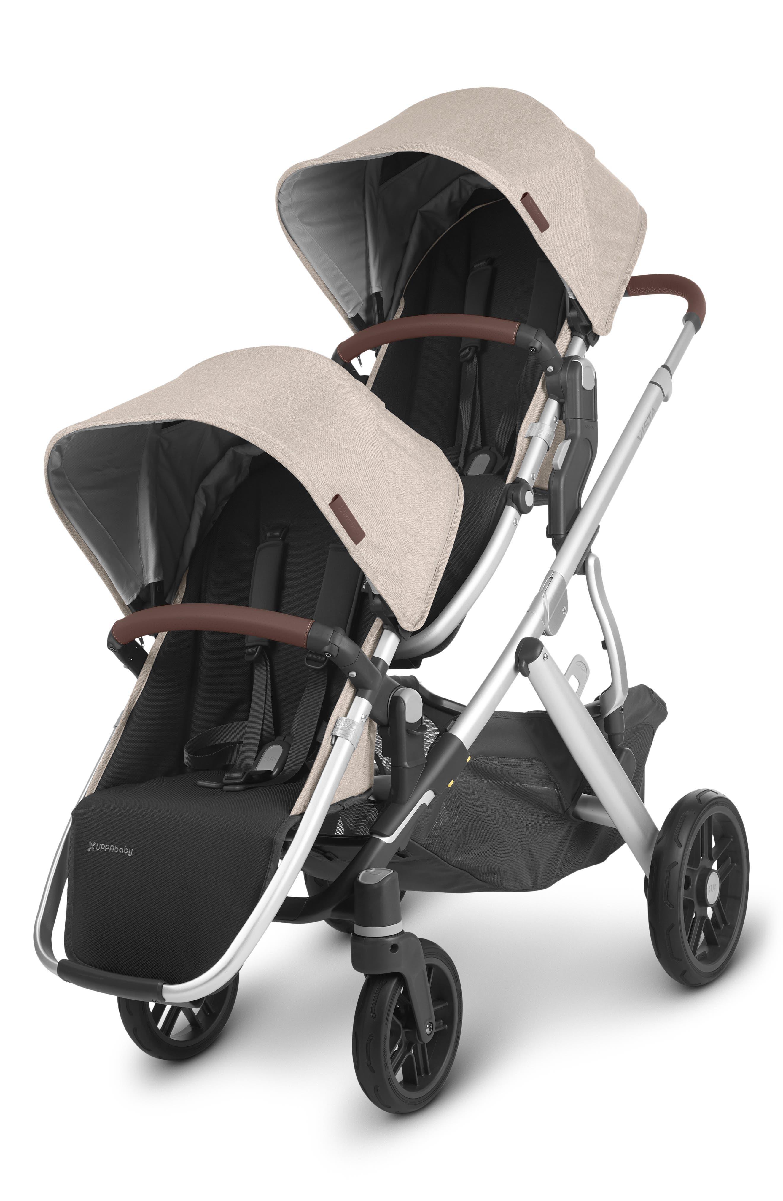 UPPAbaby Infant Uppababy Vista V2 Stroller With Bassinet, Size One Size - Beige
