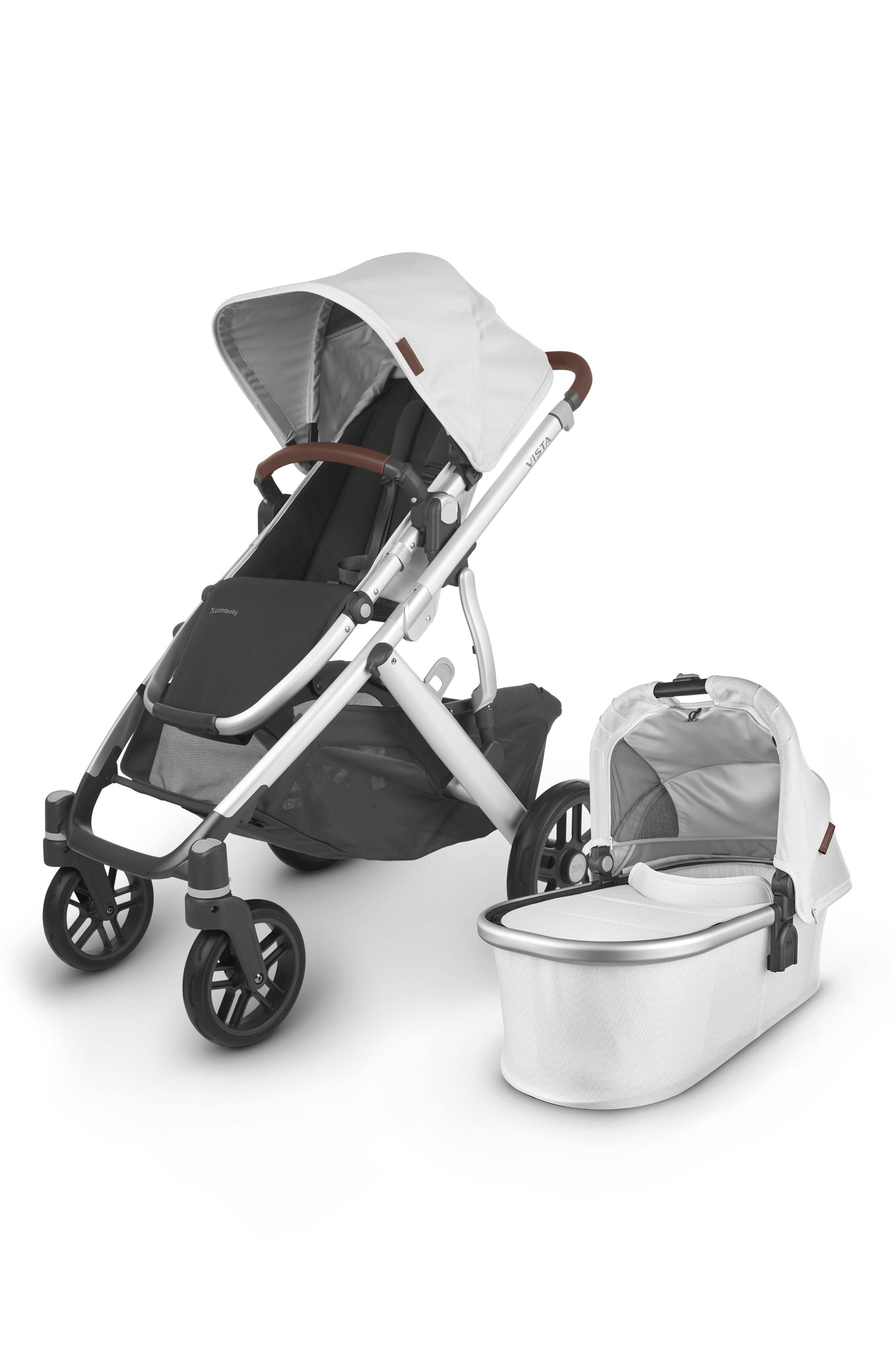 UPPAbaby Infant Uppababy Vista V2 Stroller With Bassinet, Size One Size - White