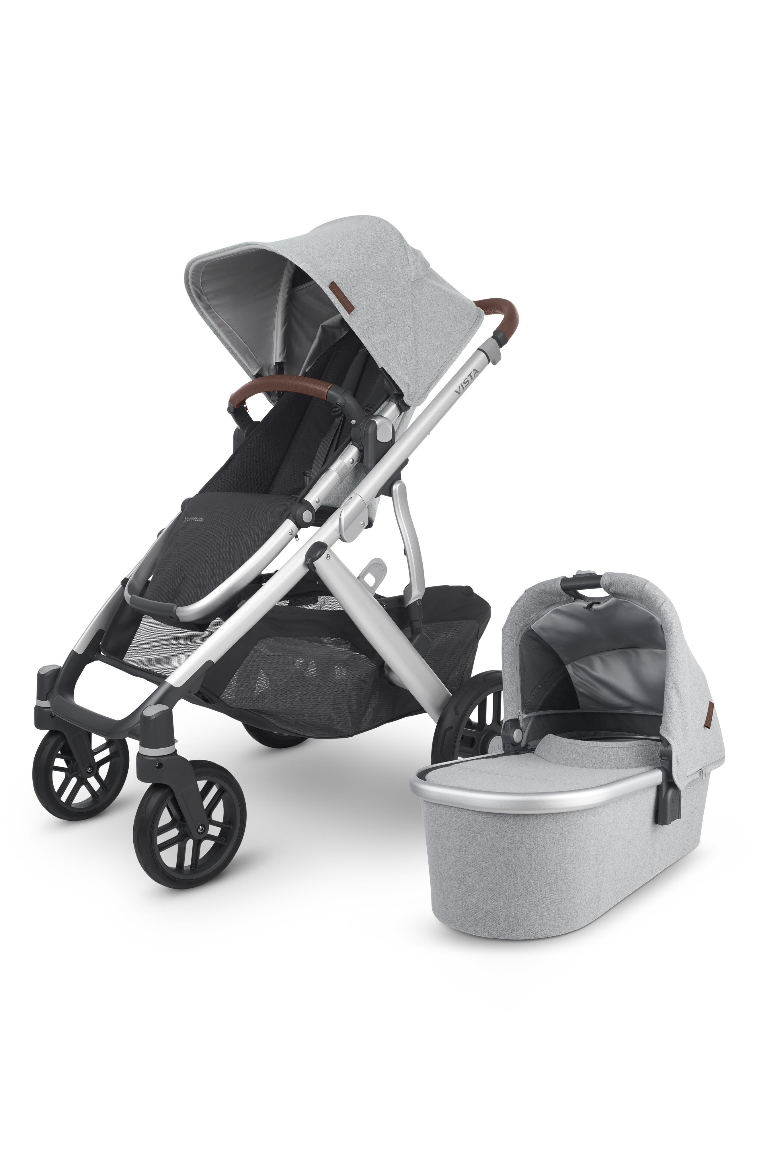 UPPAbaby Infant Uppababy Vista V2 Stella Stroller With Bassinet, Size One Size - Grey