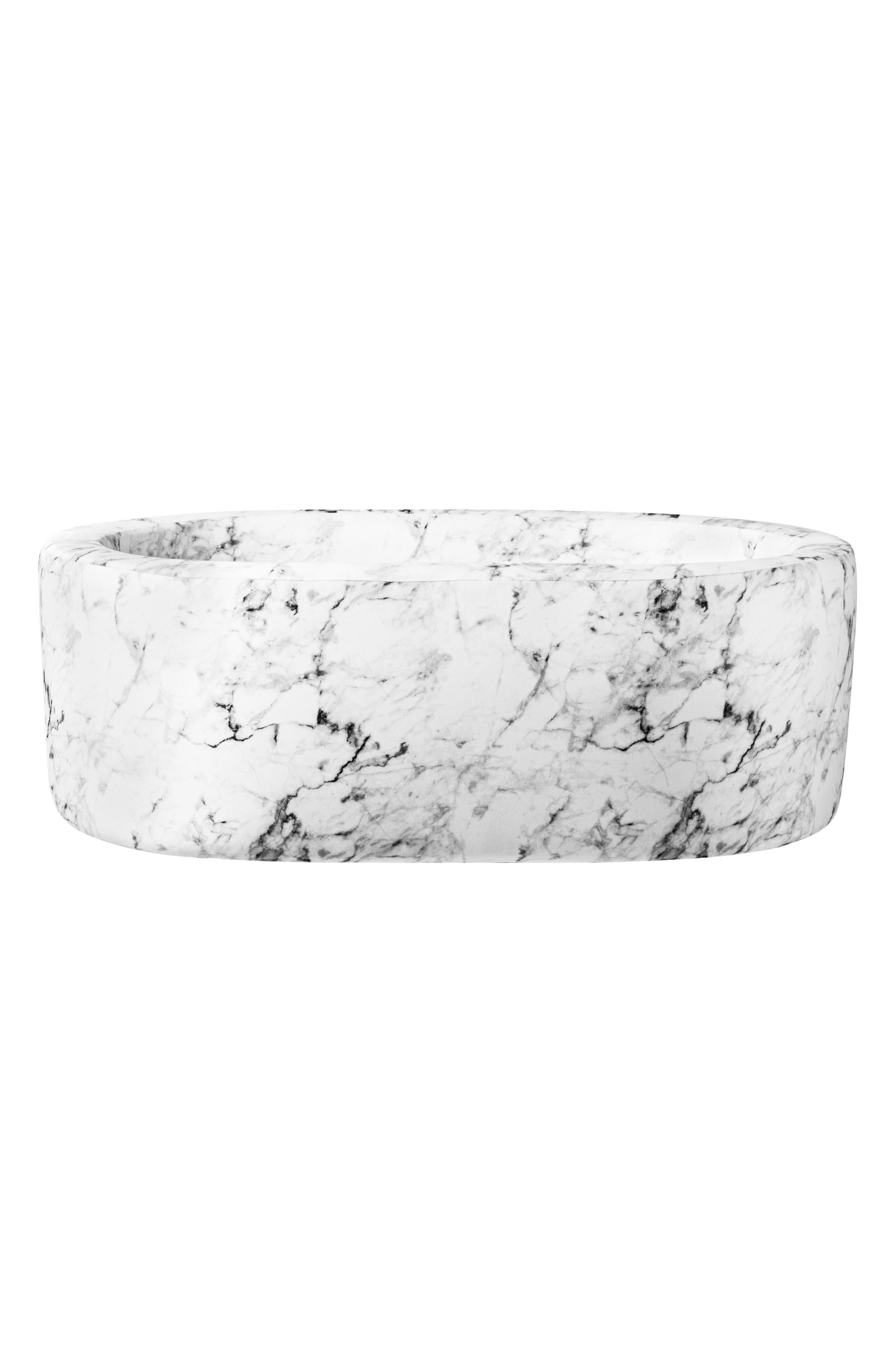 Aristot Infant Aristot Carrara Marble Print Modular Bassinet, Size One Size - Grey