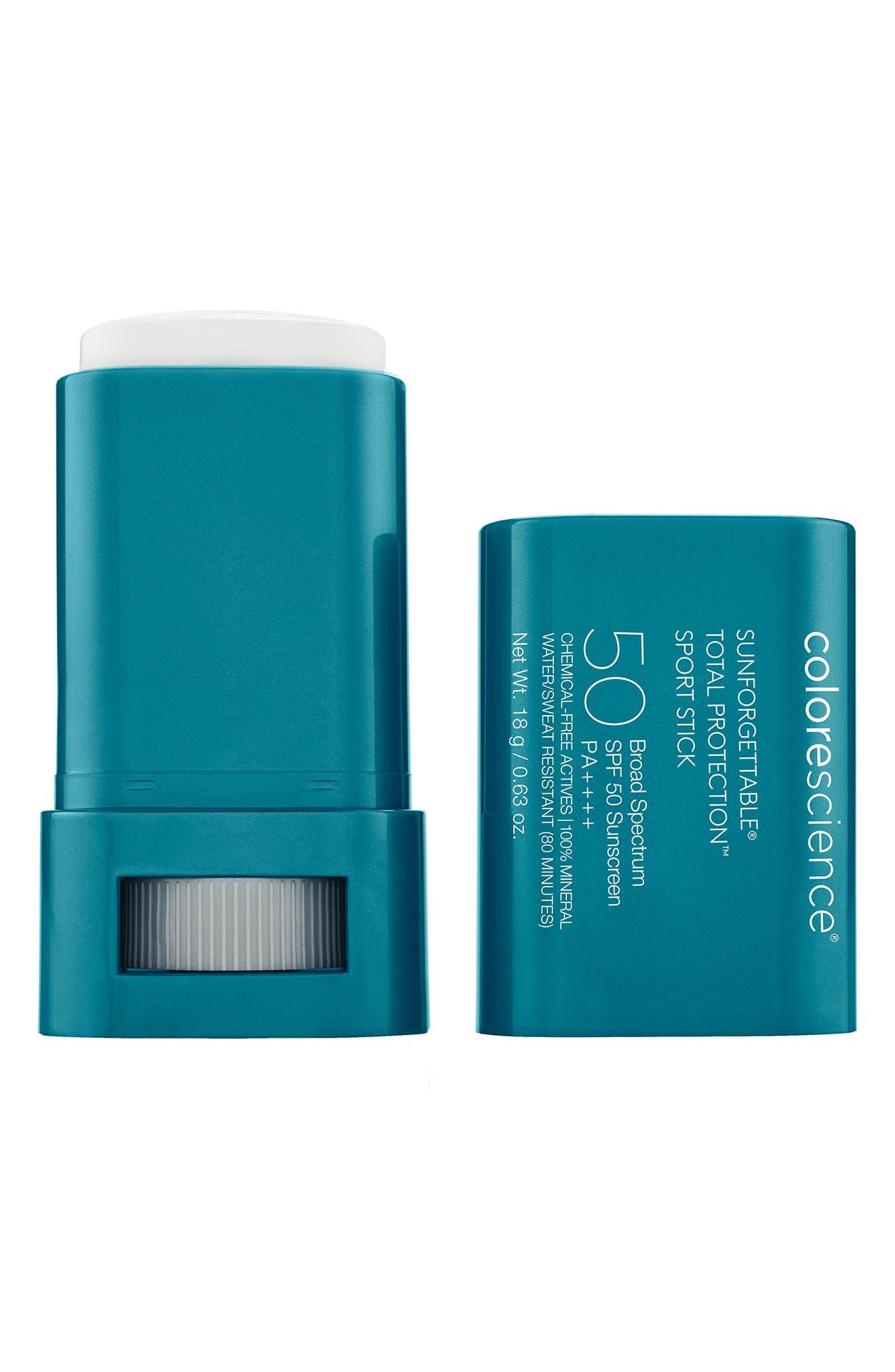 COLORESCIENCER Colorescience Sunforgettable Total Protection Sport Stick Spf 50 Sunscreen