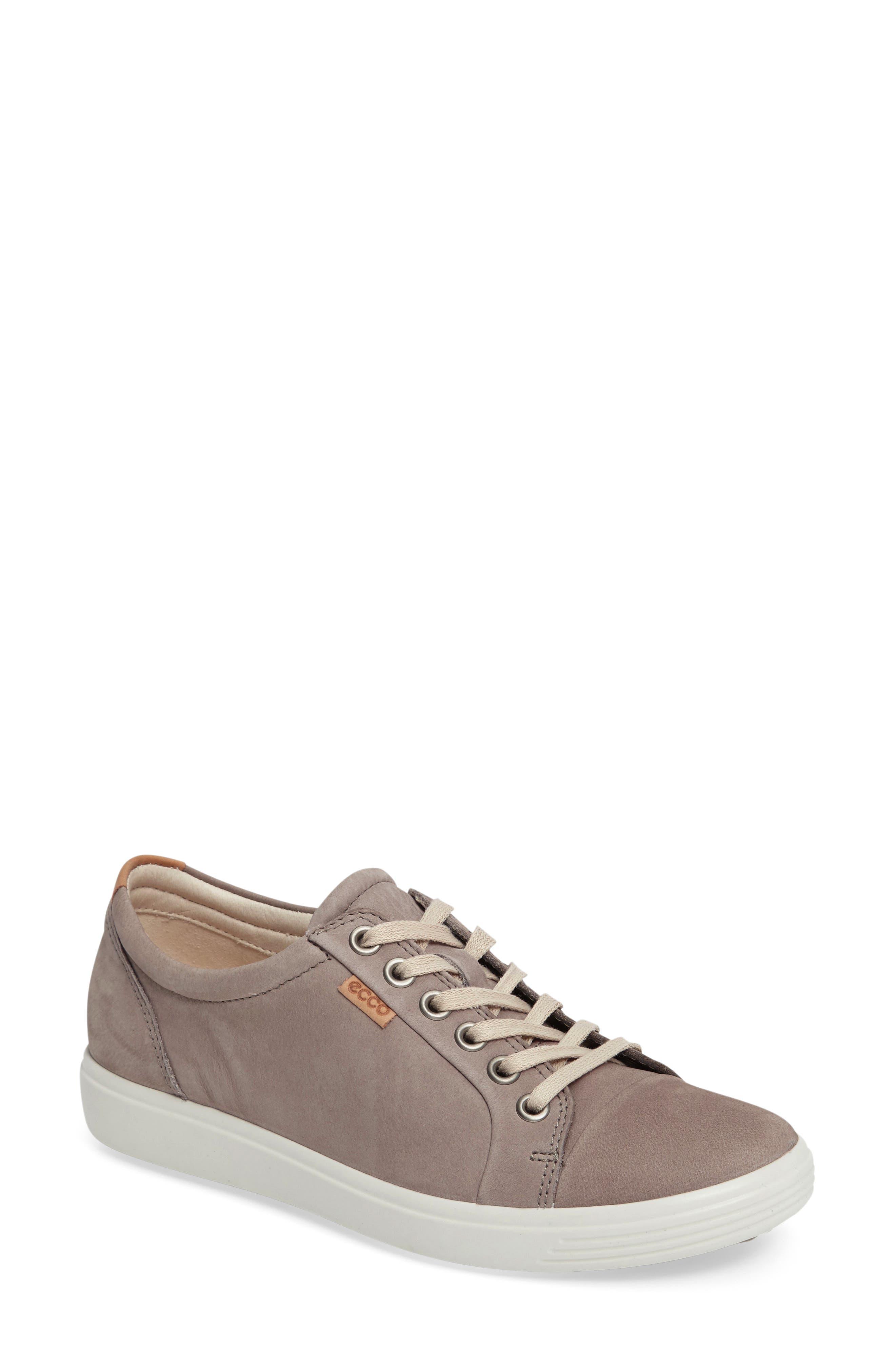 ECCO Women's Ecco Soft 7 Sneaker, Size 5-5.5US - Grey