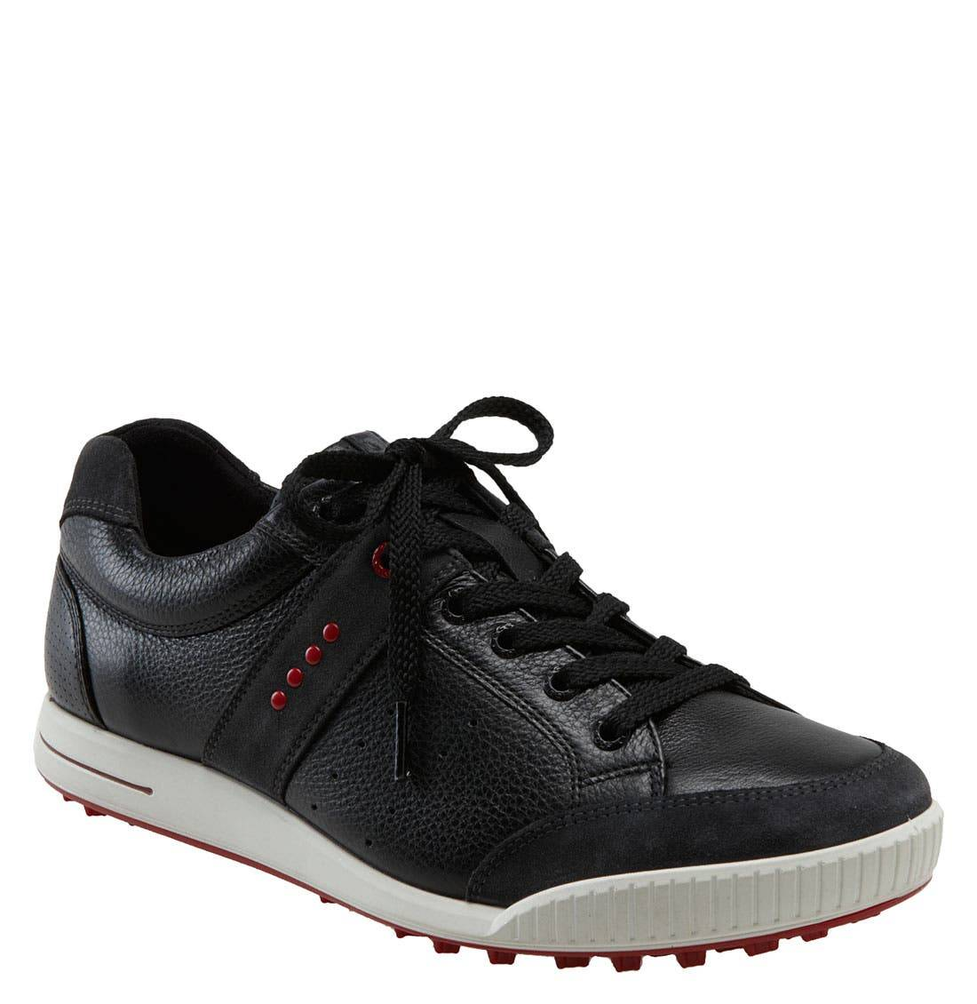 ECCO Men's Ecco 'Street Premiere' Golf Shoe, Size 11-11.5US - Black