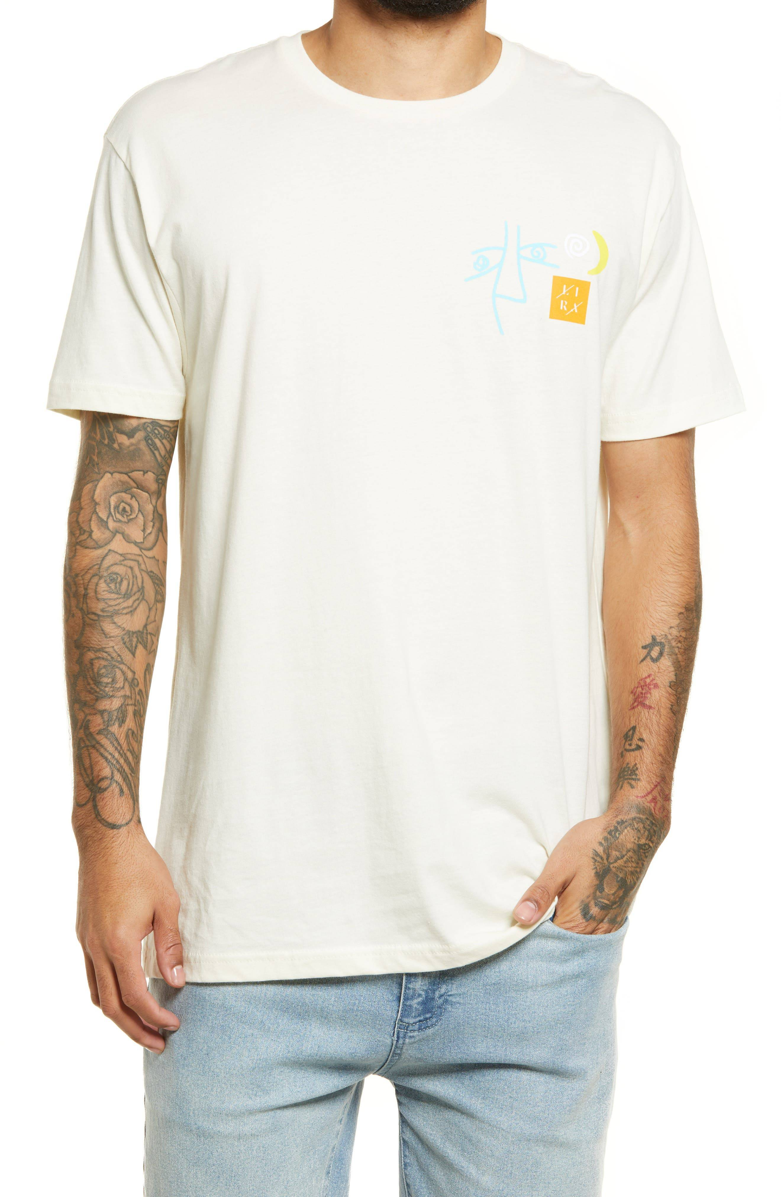 Lira Clothing Men's Lira Clothing Rantour Men's Graphic Tee, Size Medium - White