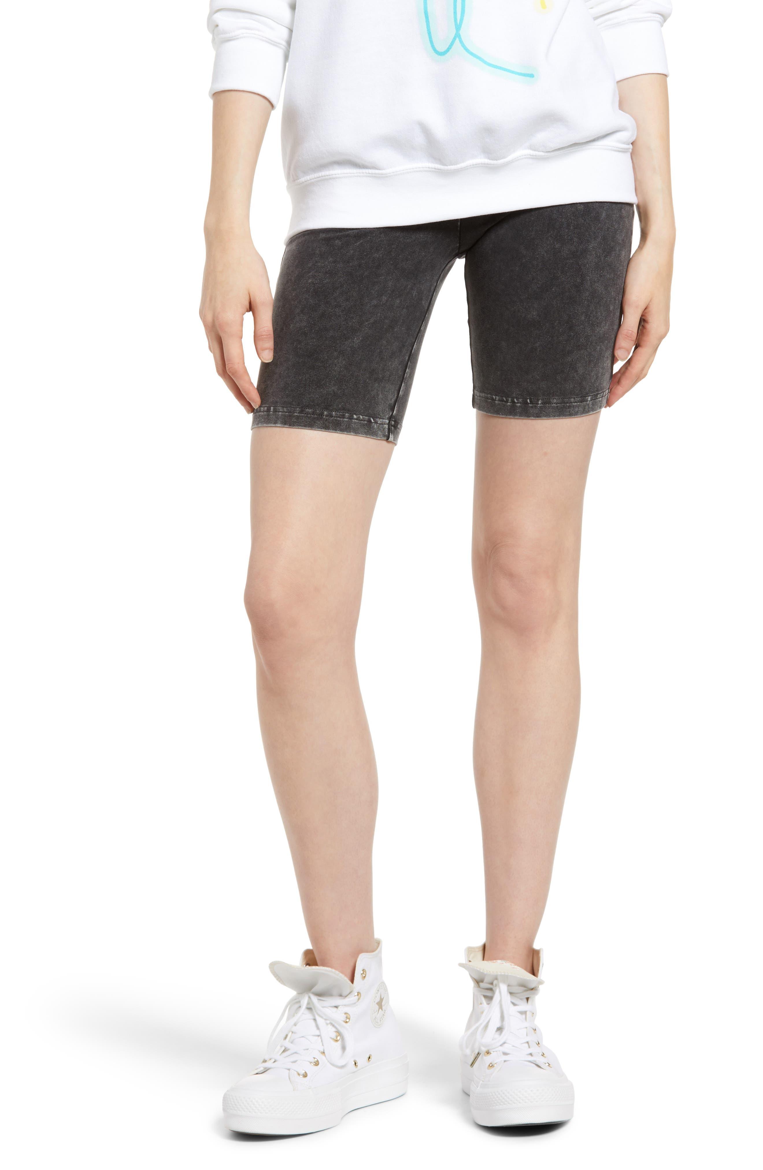 Ten Sixty Sherman Women's Ten Sixty Sherman Washed Bike Shorts, Size Large - Black