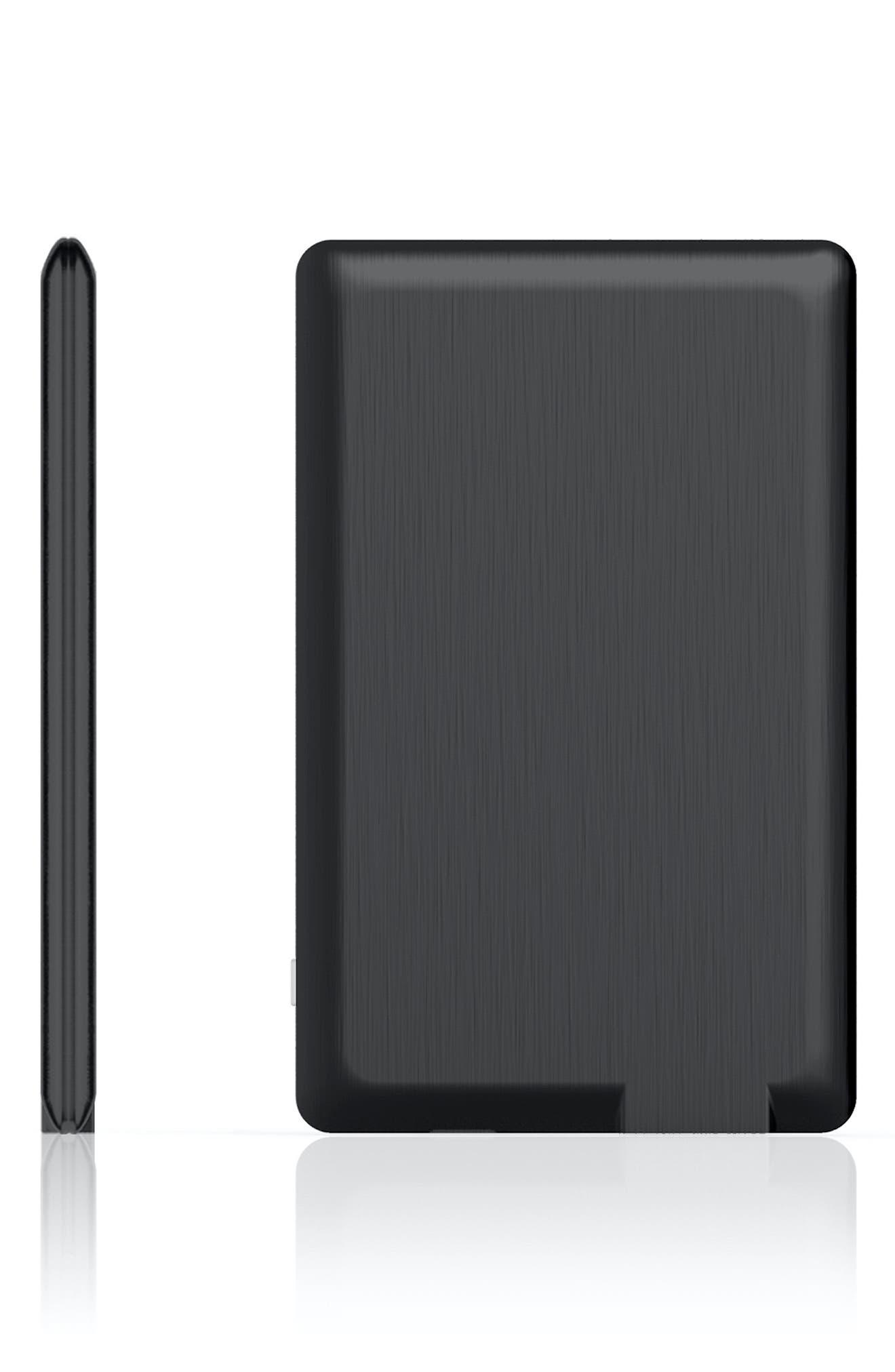 Xoopar Powercard Ultra Slim Universal Phone Power Bank, Size One Size - Black