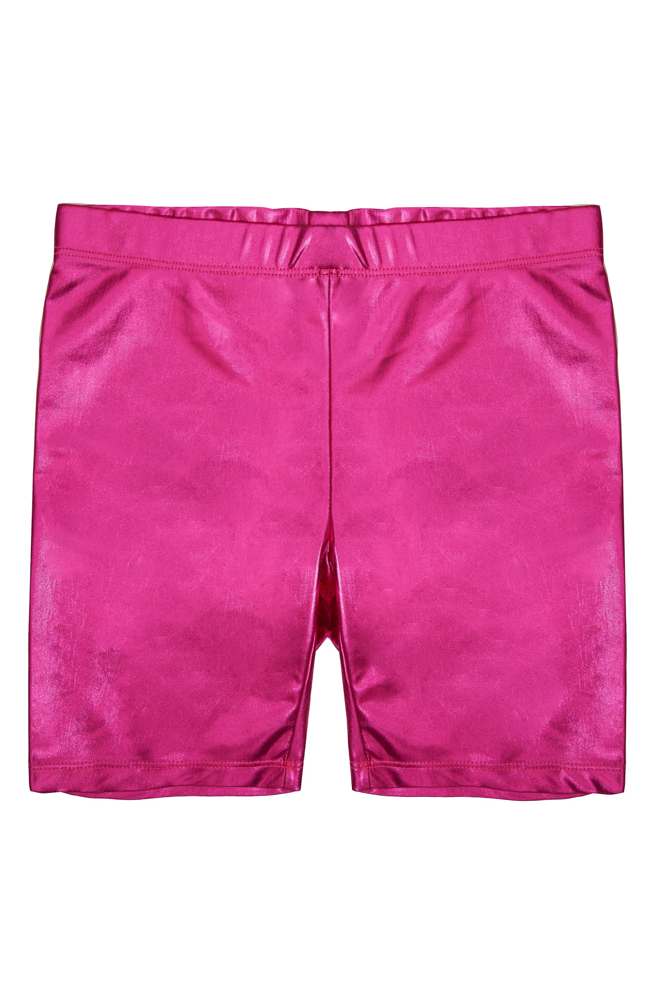 MIA New York Girl's Mia New York Bike Shorts, Size L - Pink