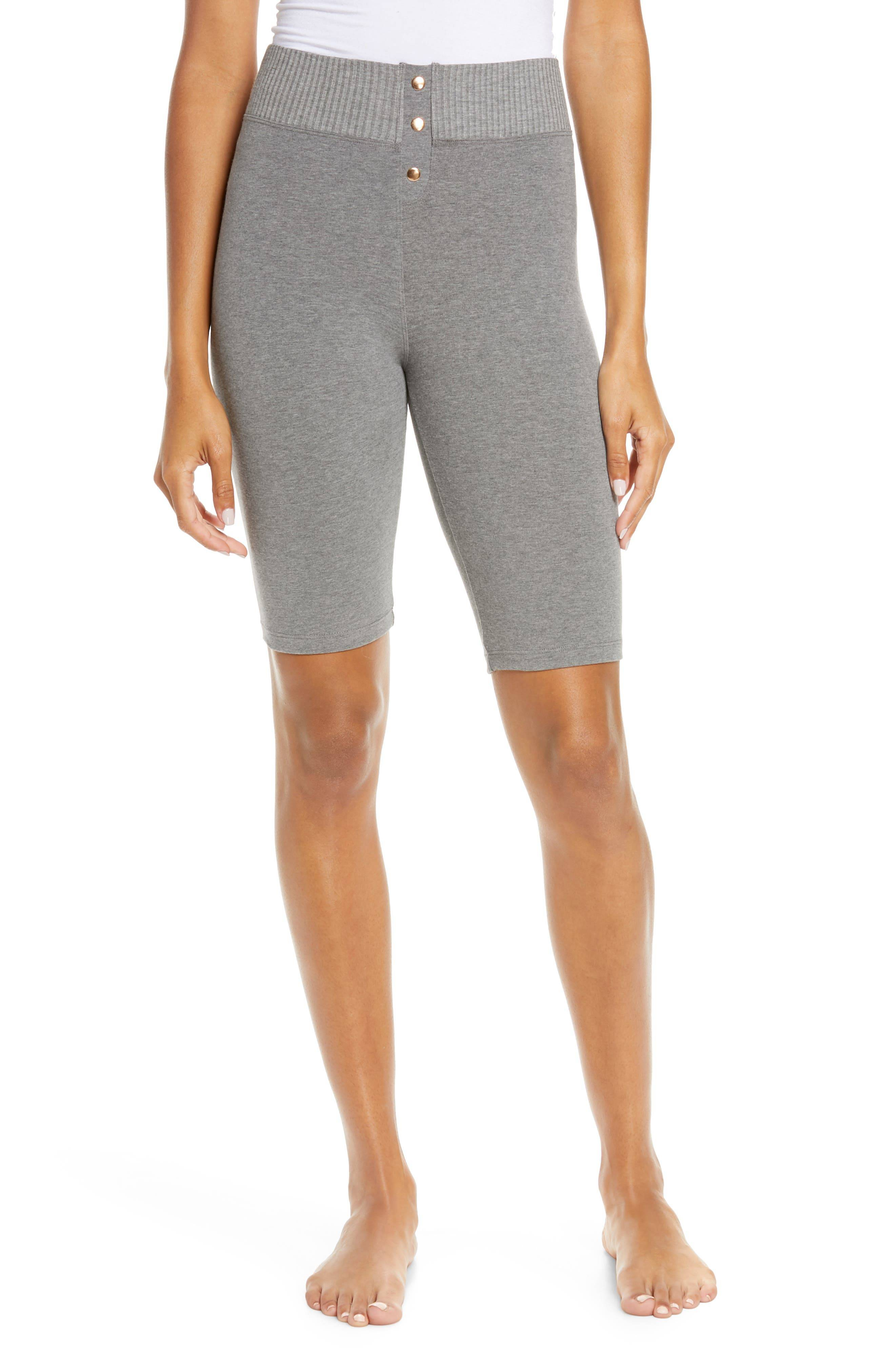 Felina Women's Felina Bike Shorts, Size Medium - Grey