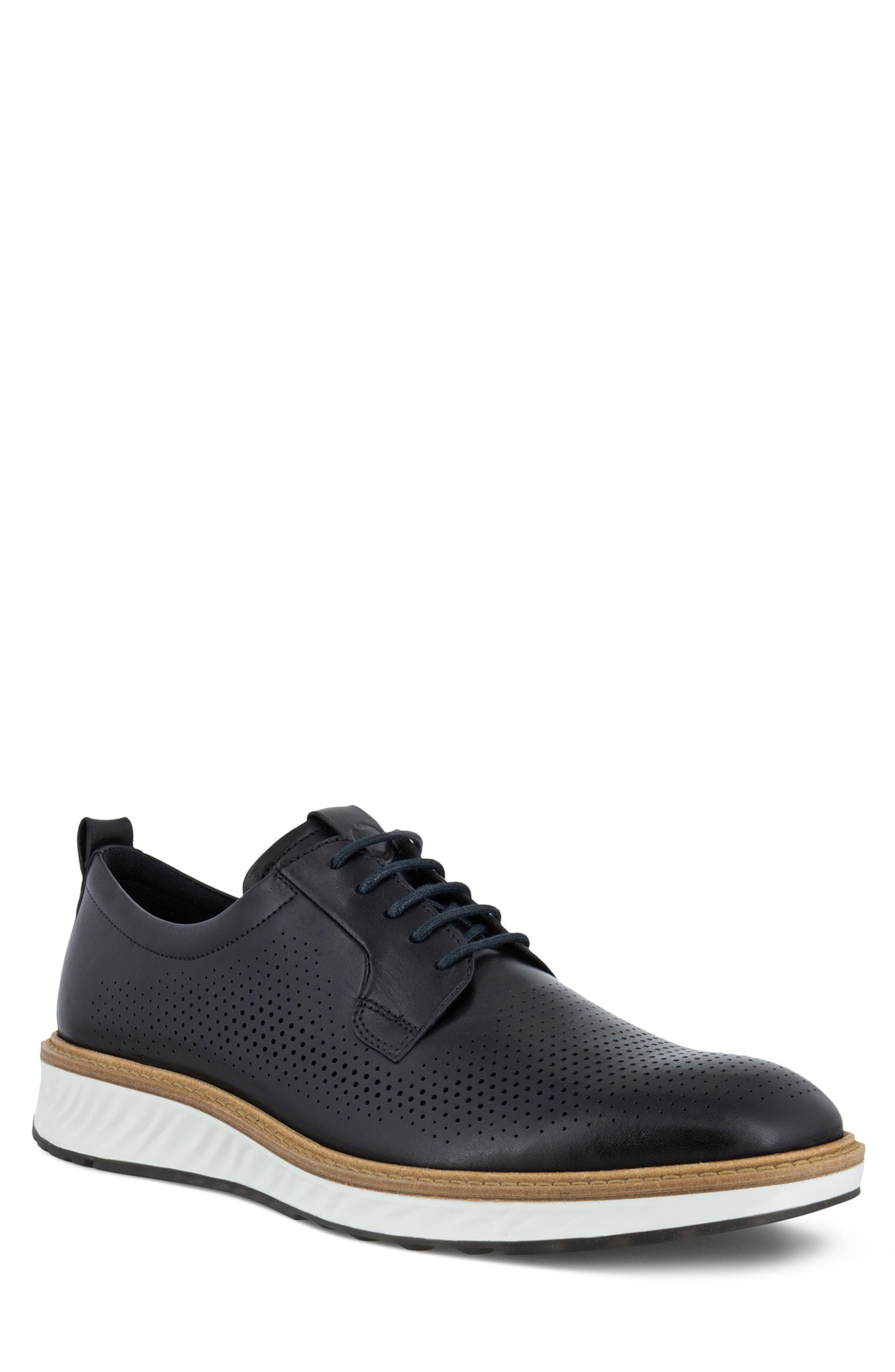 ECCO Men's Ecco St. 1 Hybrid Plain Toe Derby, Size 8-8.5US - Black