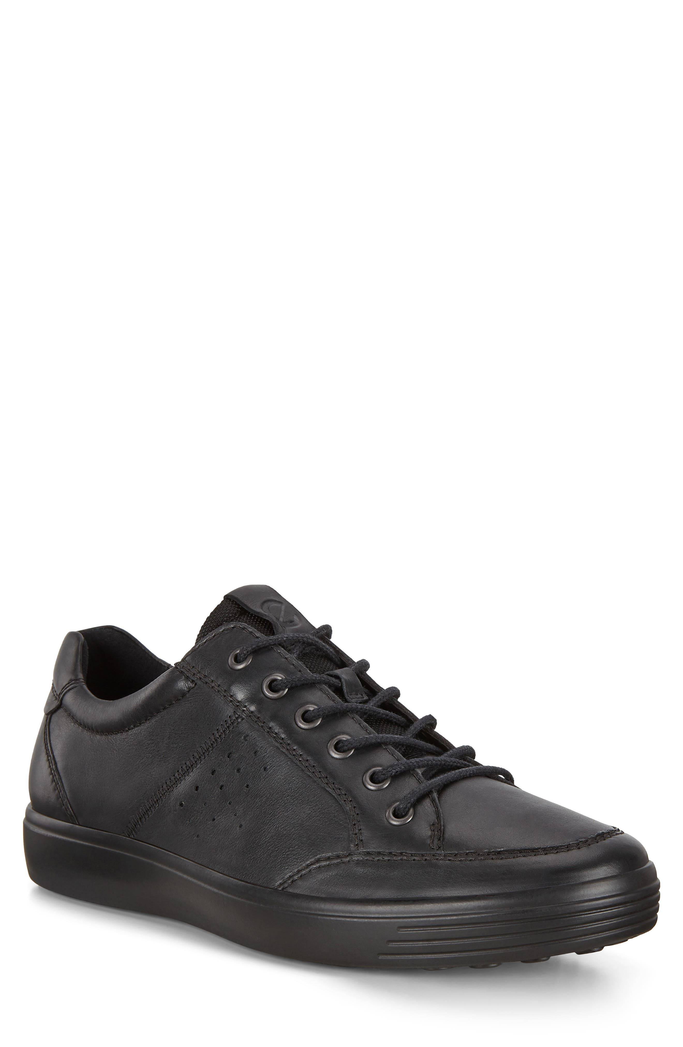 ECCO Men's Ecco Soft Classic Low Top Sneaker, Size 16-16.5US - Black