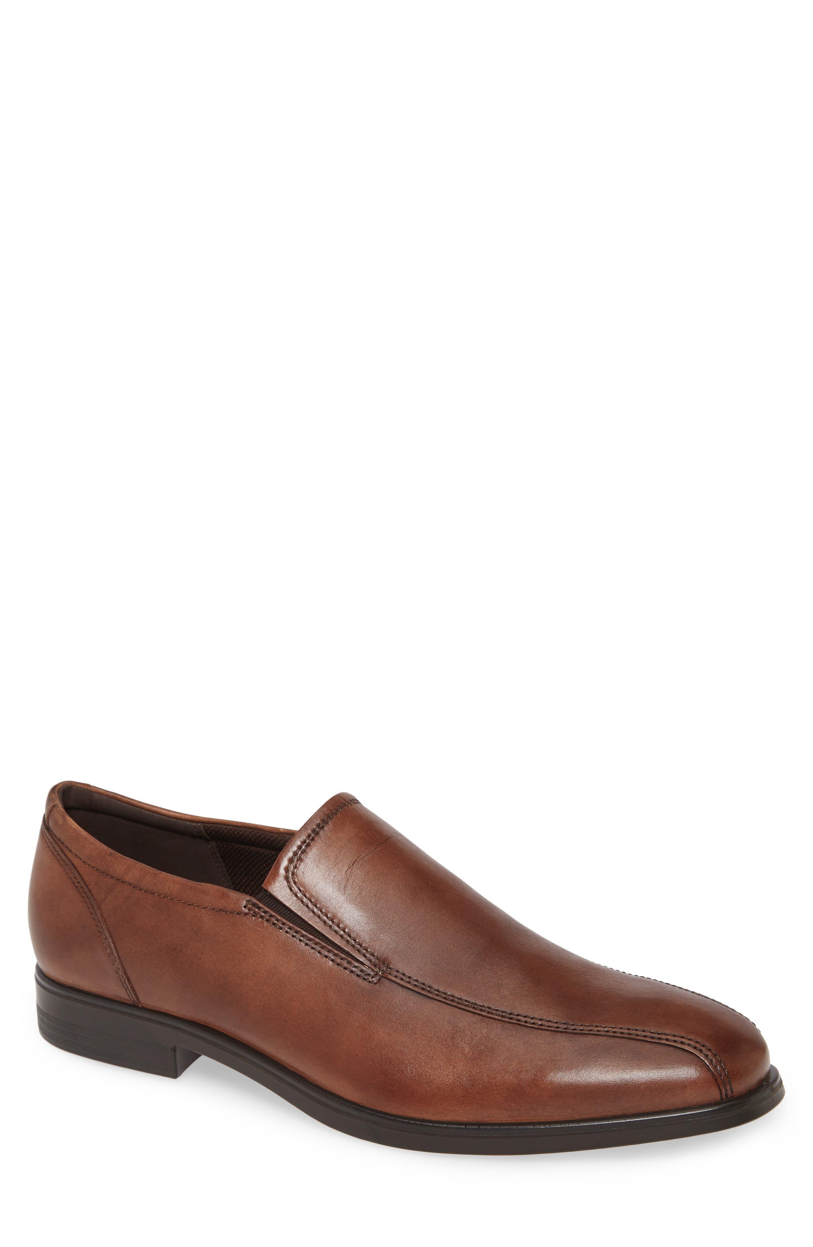 ECCO Men's Ecco Queenstown Venetian Loafer, Size 6-6.5US - Brown