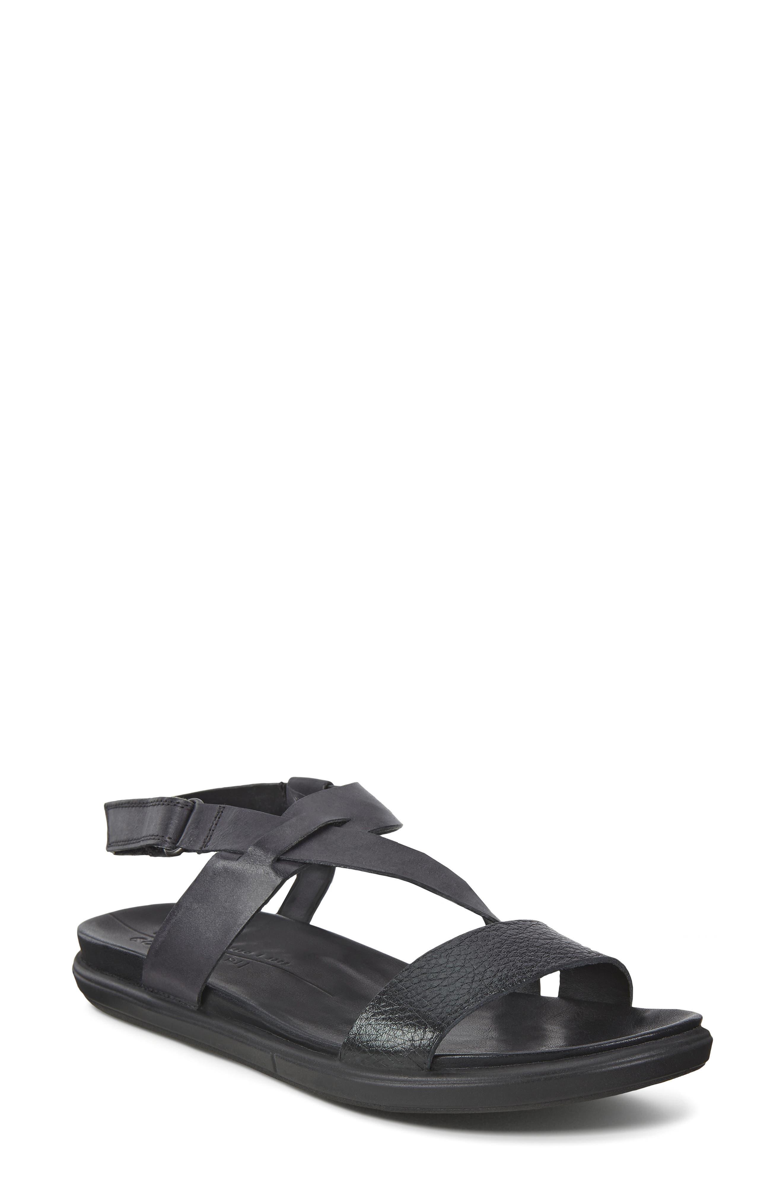 ECCO Women's Ecco Simpil Strappy Sandal, Size 5-5.5US - Black