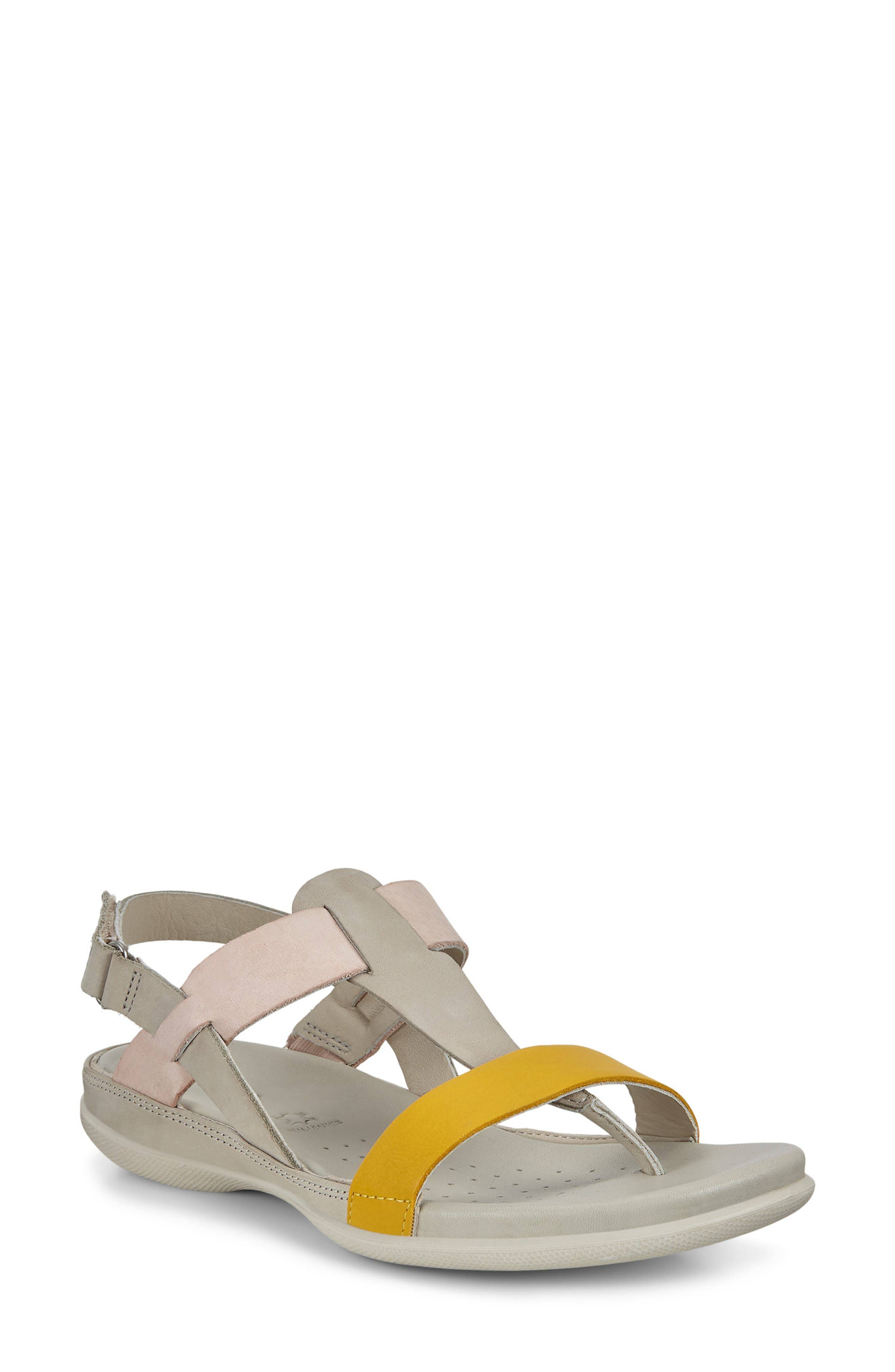 ECCO Women's Ecco Flash Toe Post Sandal, Size 7-7.5US - Grey