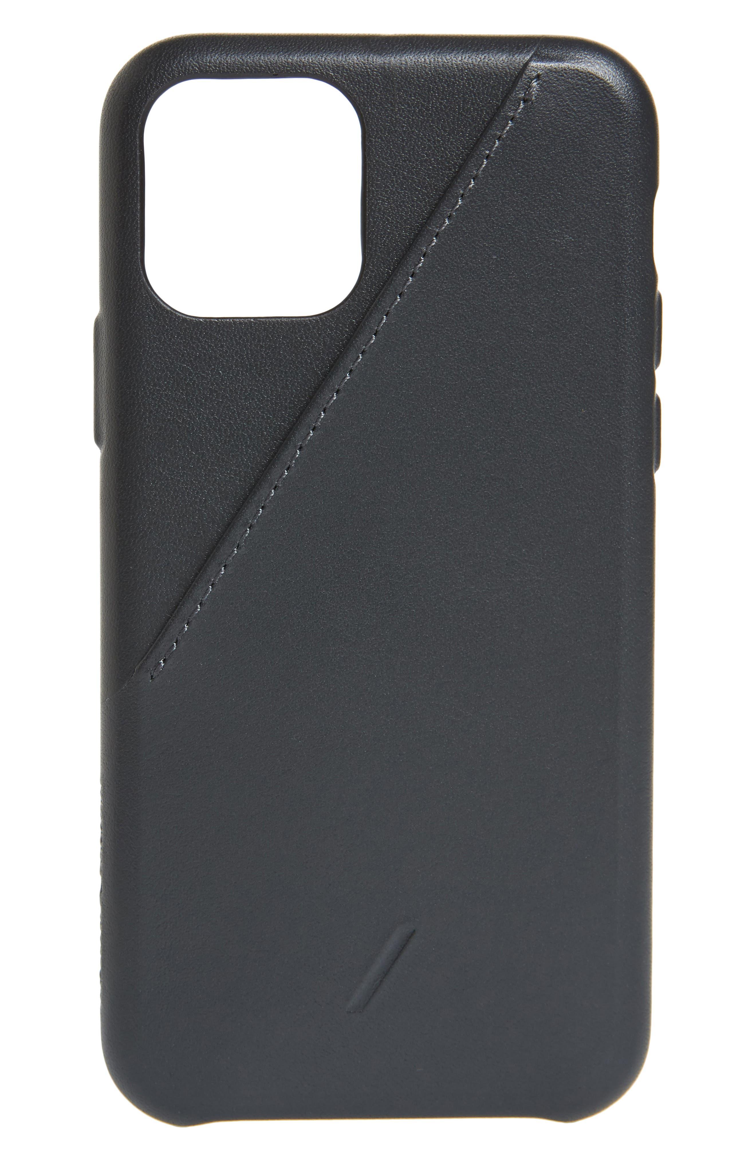 Native Union Clic Card Iphone 11, 11 Pro & 11 Pro Max Case - Black