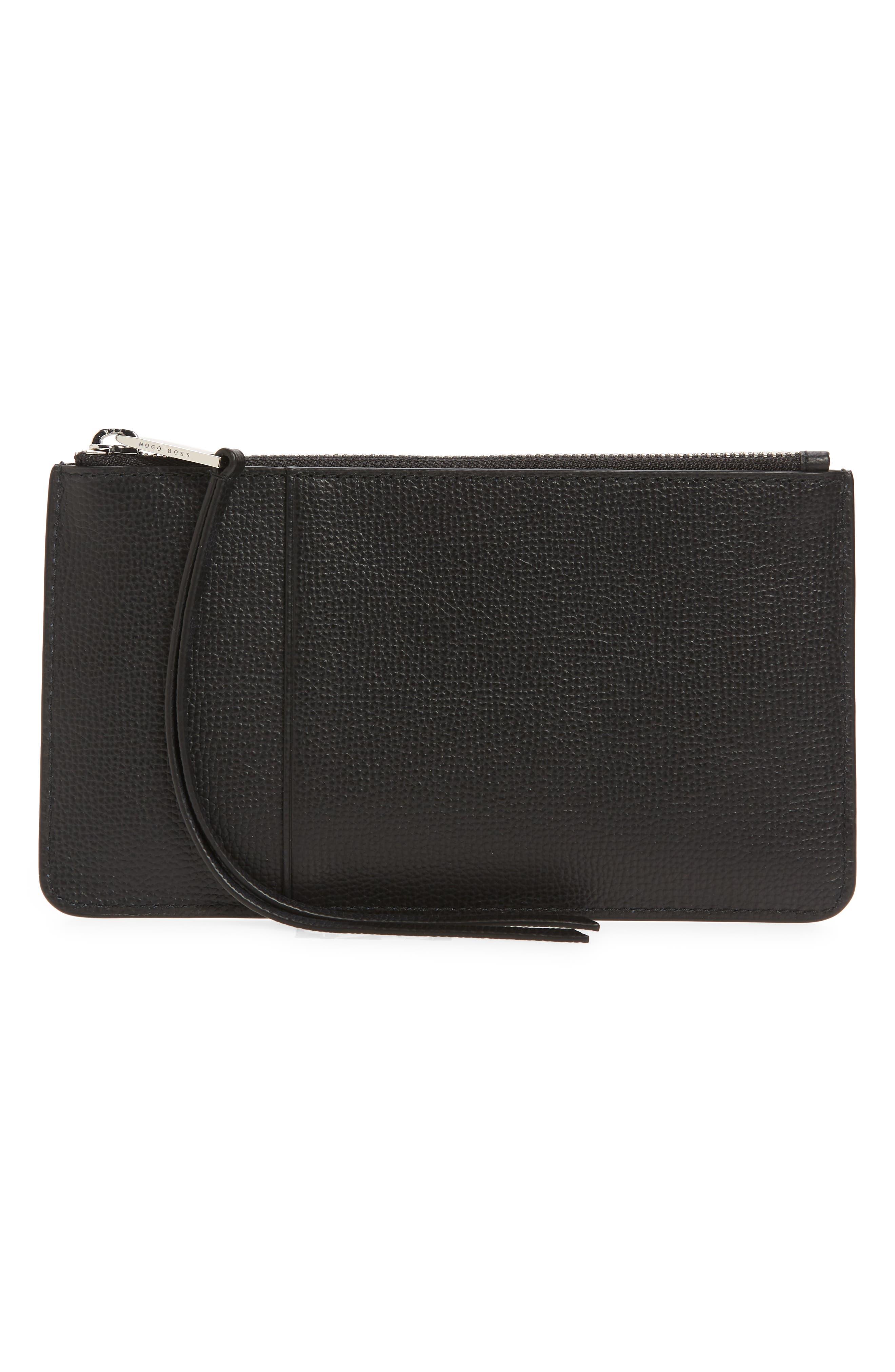 Boss Women's Boss Phone Card Case Wallet - Black