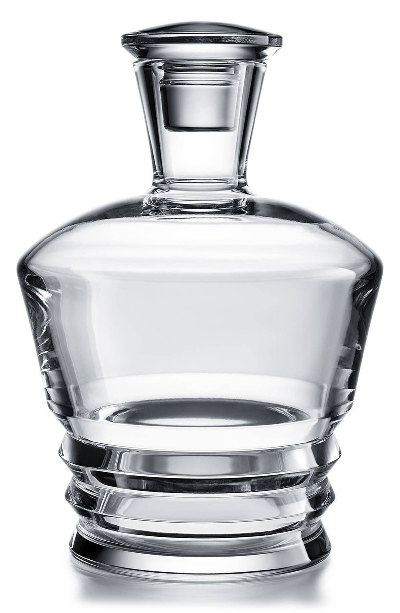 Baccarat Vega Round Lead Crystal Whisky Decanter, Size One Size - White