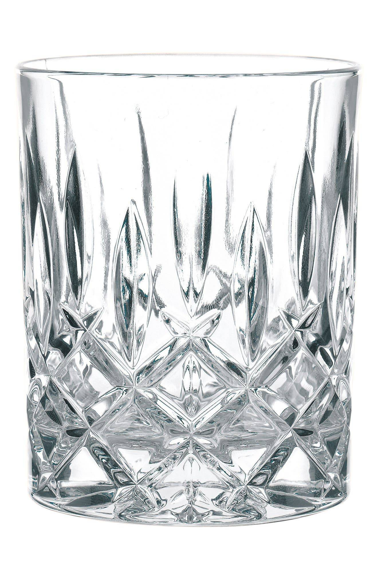 Nachtmann Set Of 4 Crystal Whisky Tumblers, Size One Size - White