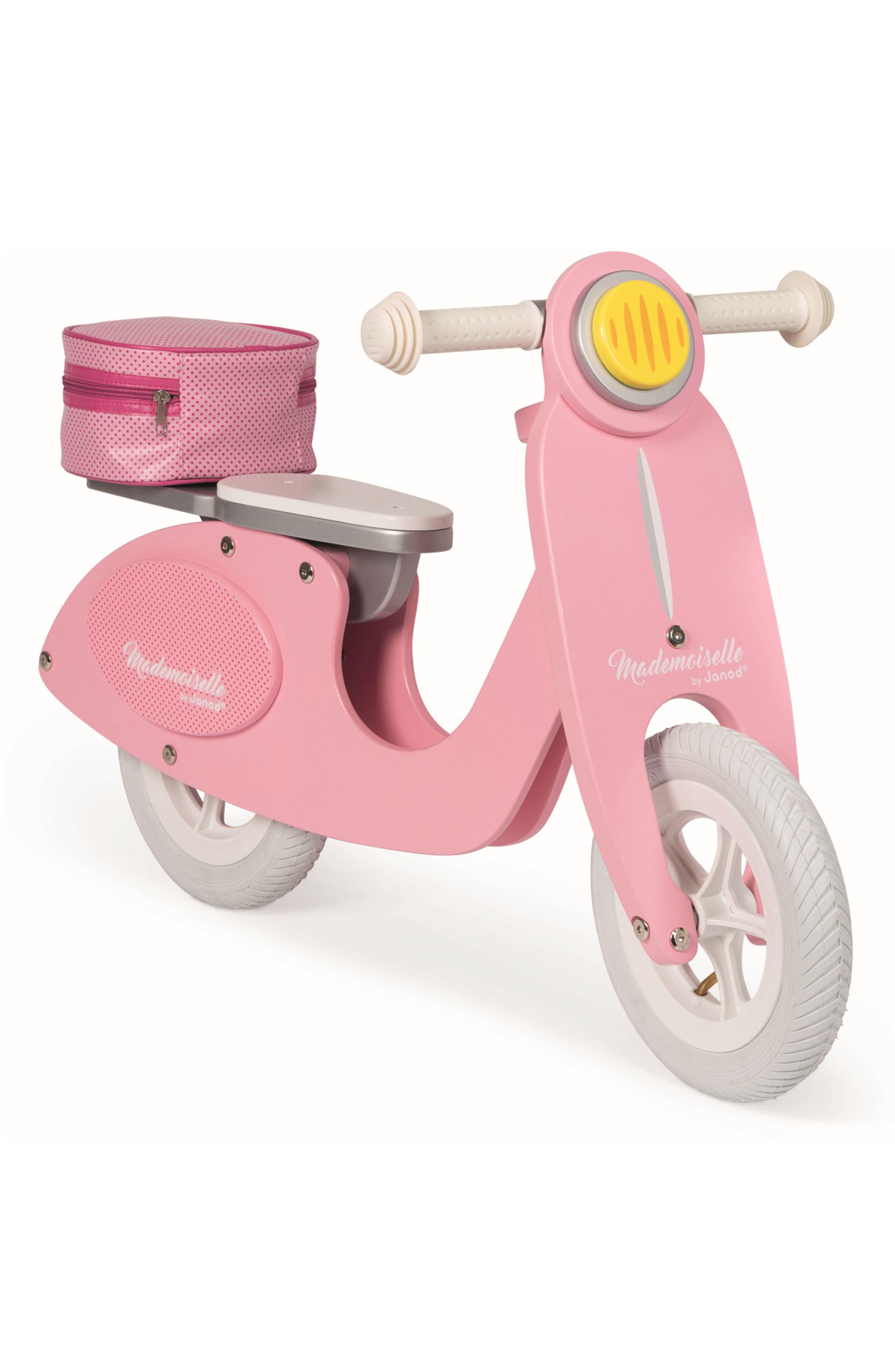 Janod Toddler Girl's Janod Mademoiselle Scooter Balance Bike