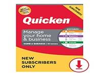 Lenovo Quicken Home & Business 2021 - subscription license (1 year) - 1 license
