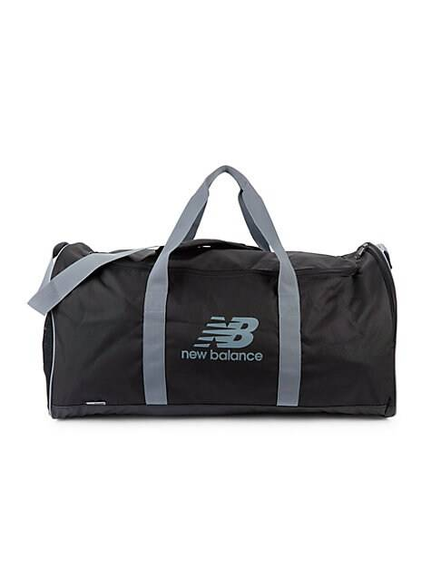 New Balance Logo Sport Duffel Bag  BLACK  Men  size:One Size
