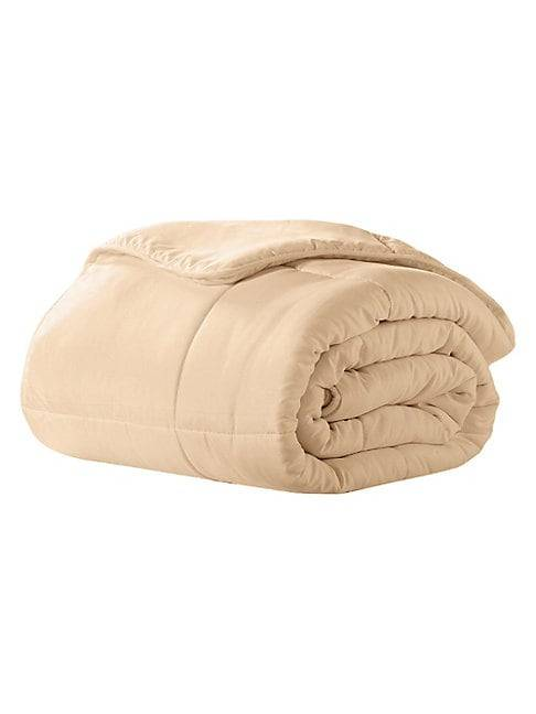 Ella Jayne Home Triple Brushed Microfiber Comforter  KHAKI  Not Applicable  size:Full/Queen