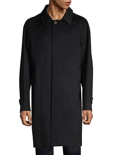 Burberry Halesowen Cashmere Car Coat  BLACK  Men  size:56 (46)