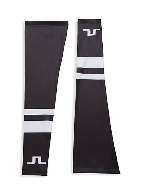 J. Lindeberg Bike Leg Sleeves  BLACK  Men  size:L/XL