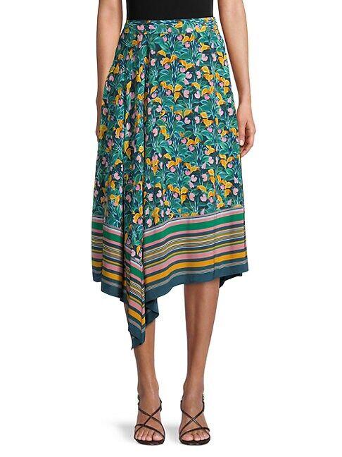 Diane von Furstenberg Denver Garden Skirt  JARDIN  Women  size:10