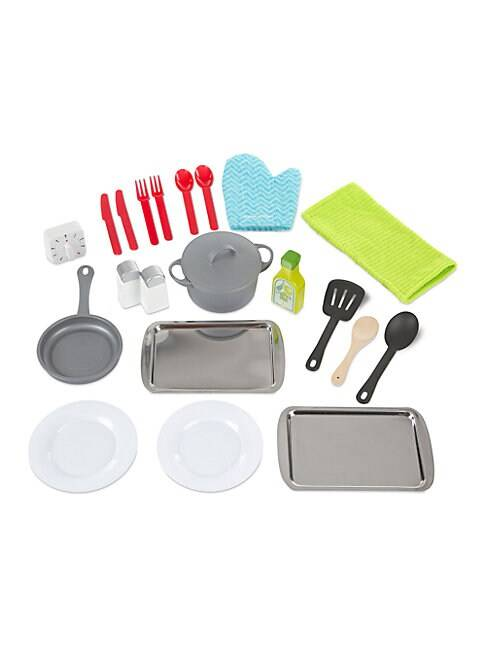 Melissa & Doug Kitchen Accessory Set  GREY MULTI  Not Applicable  size:One Size
