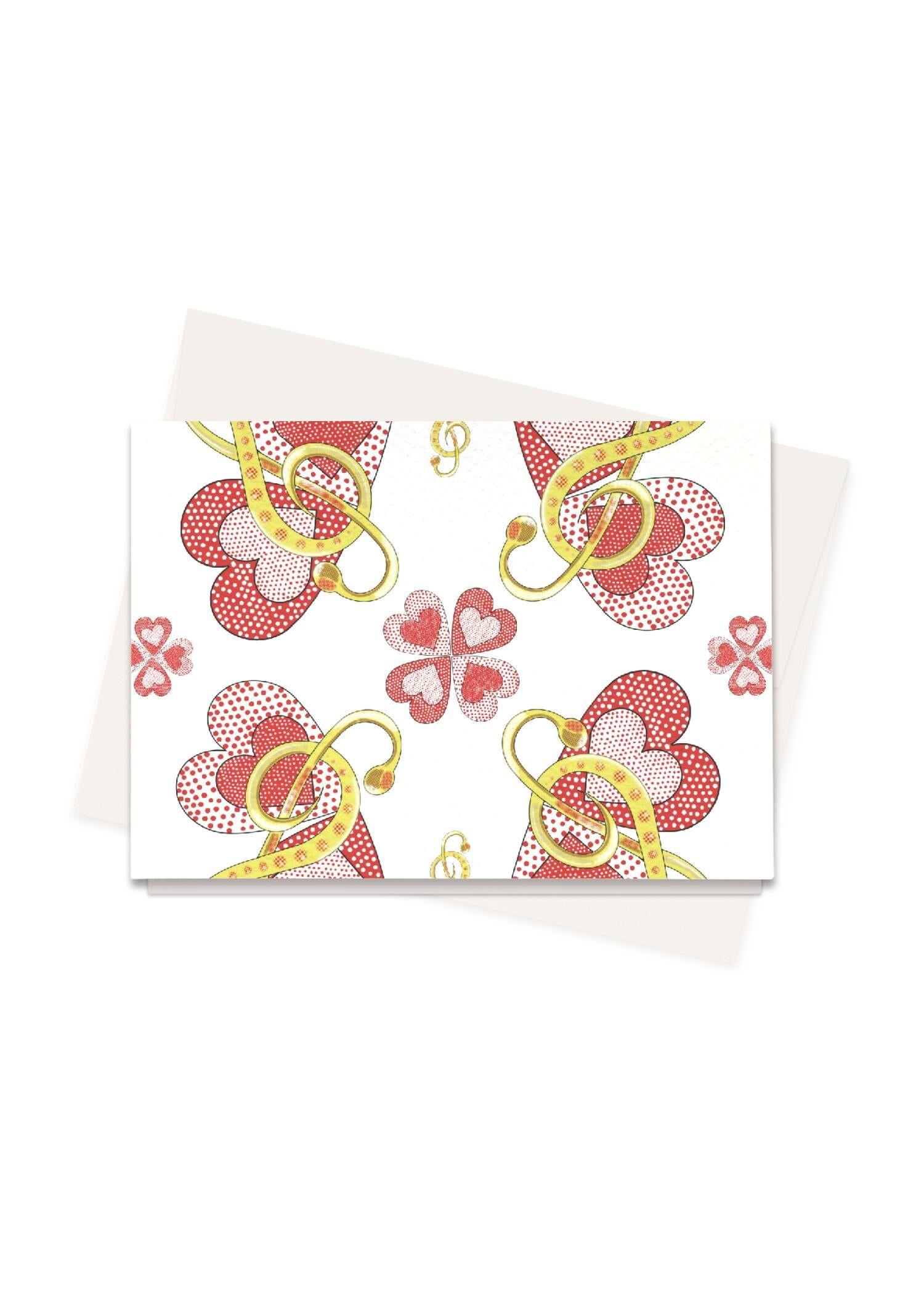 VIDA Greeting Cards Set - Music by VIDA Original Artist  - Size: Set of 8