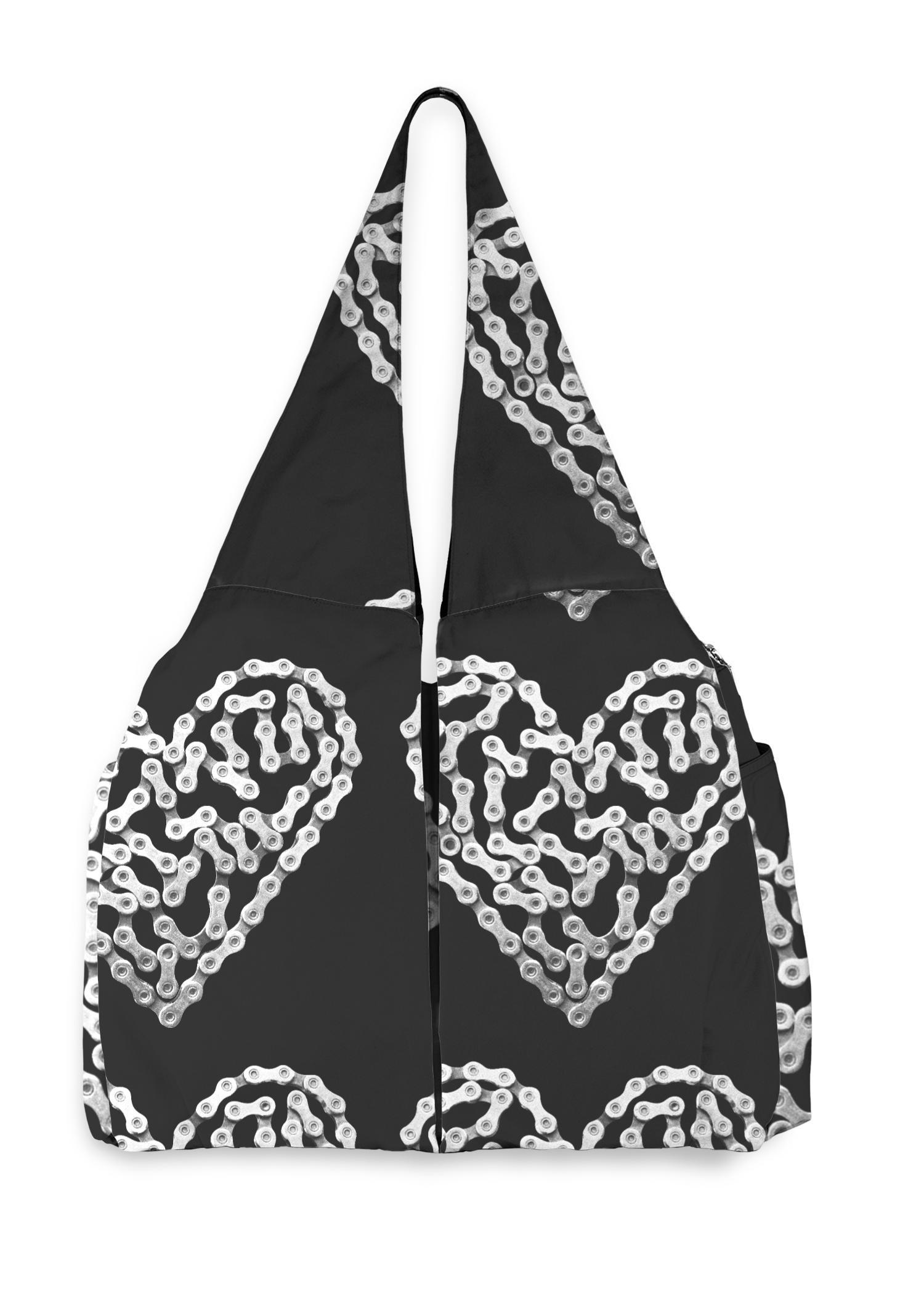 VIDA Studio Bag - Bike Chain Heart by VIDA Original Artist  - Size: One Size