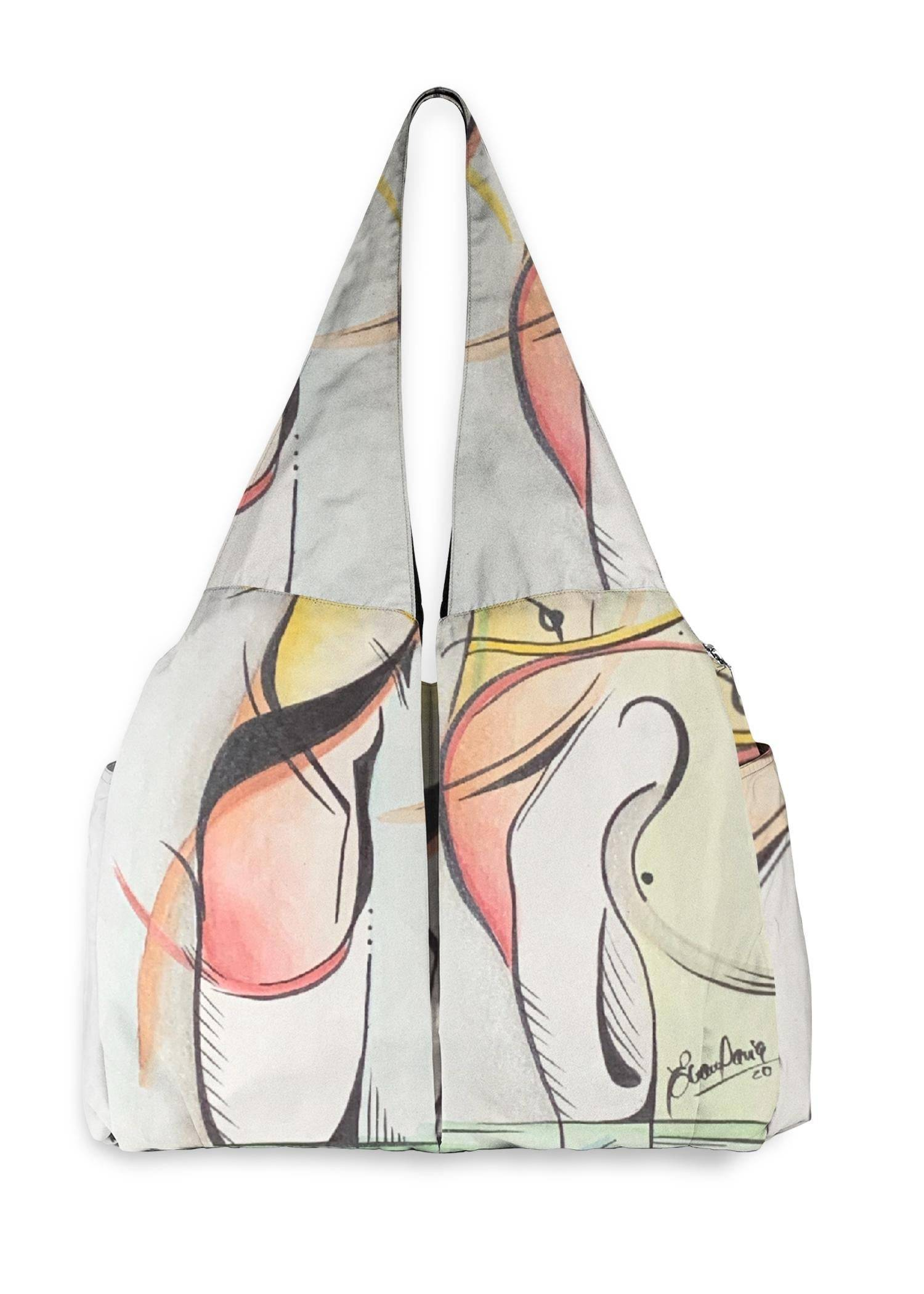 VIDA Studio Bag - Rainbow Pointe Shoes by VIDA Original Artist  - Size: One Size