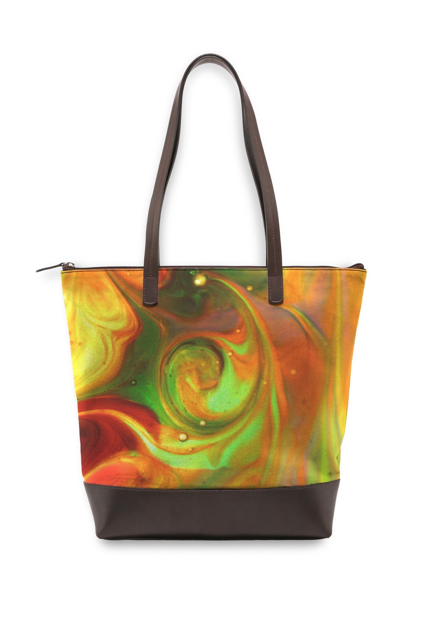 VIDA Statement Bag - Color Music by VIDA Original Artist  - Size: One Size