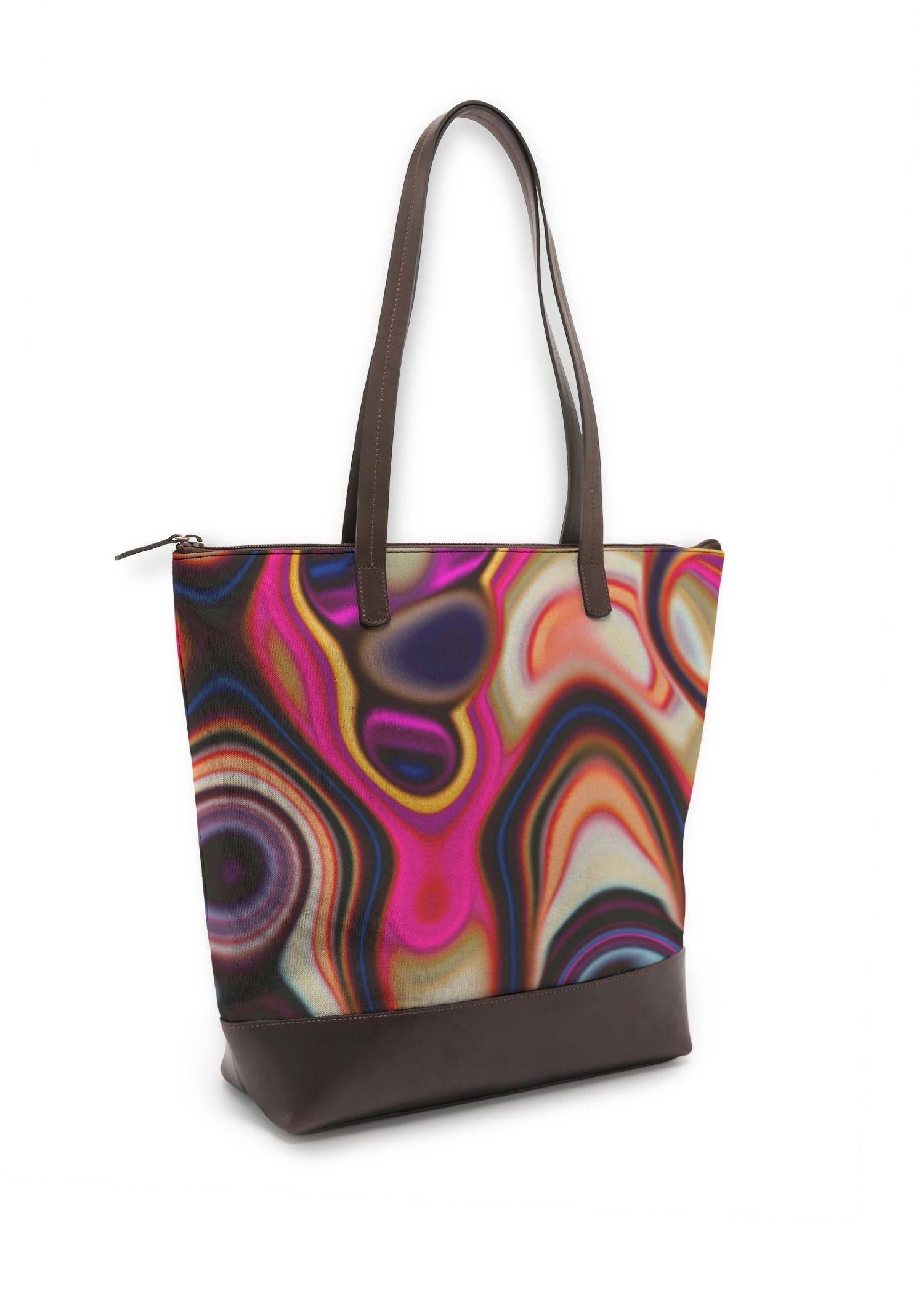 VIDA Statement Bag - Fashion Background 2 by VIDA Original Artist  - Size: One Size