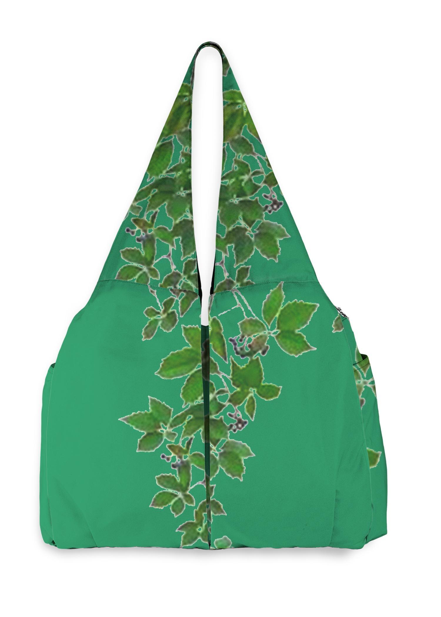 VIDA Studio Bag - Green Hanging Home Decor by VIDA Original Artist  - Size: One Size