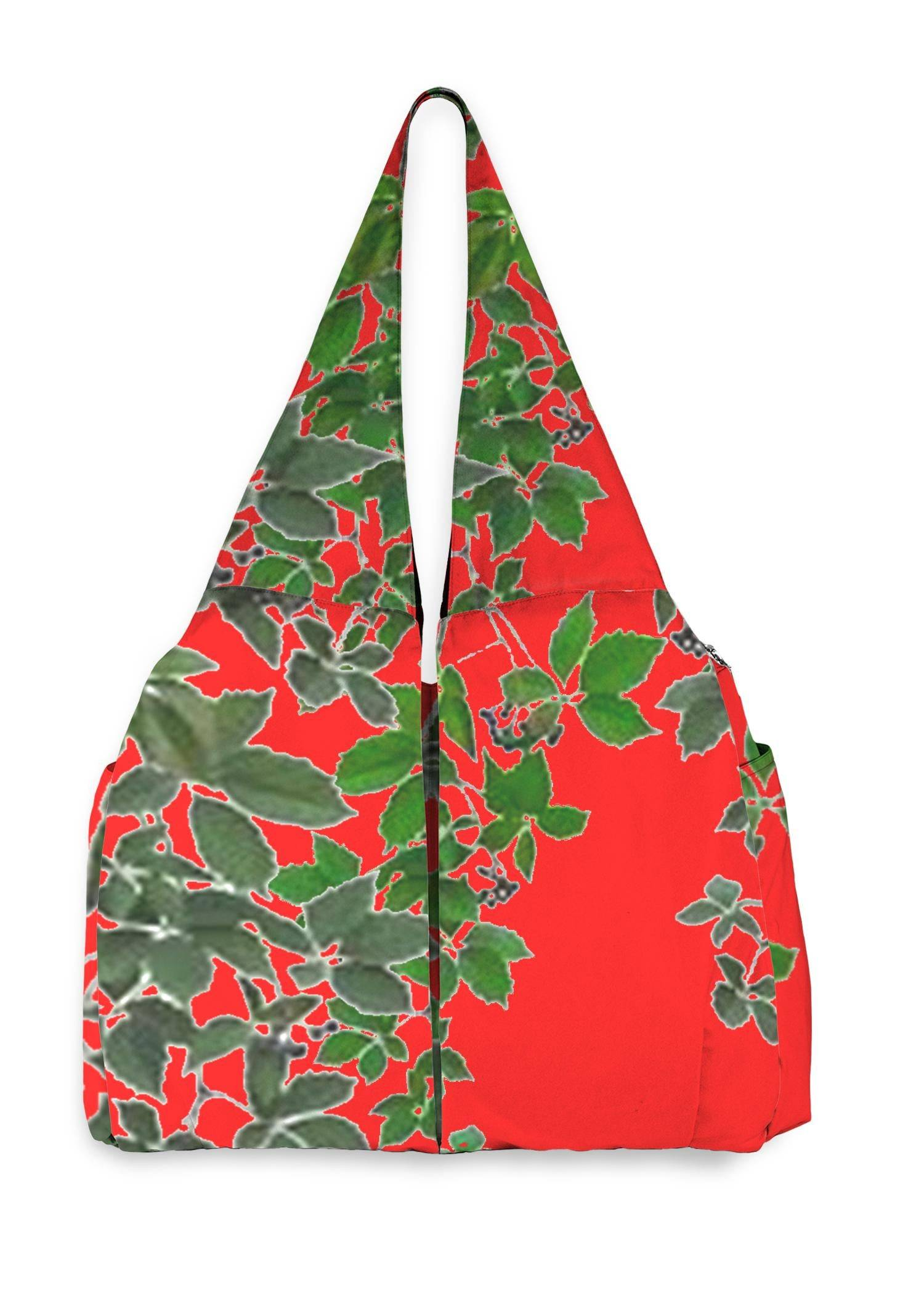 VIDA Studio Bag - Red Hanging Home Decor  2 by VIDA Original Artist  - Size: One Size