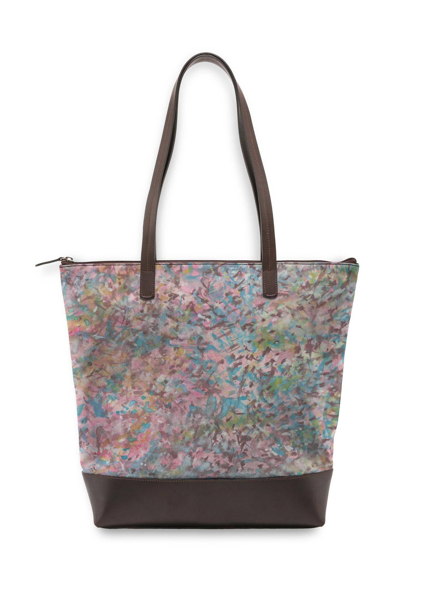 VIDA Statement Bag - Fashion Splashes by VIDA Original Artist  - Size: One Size