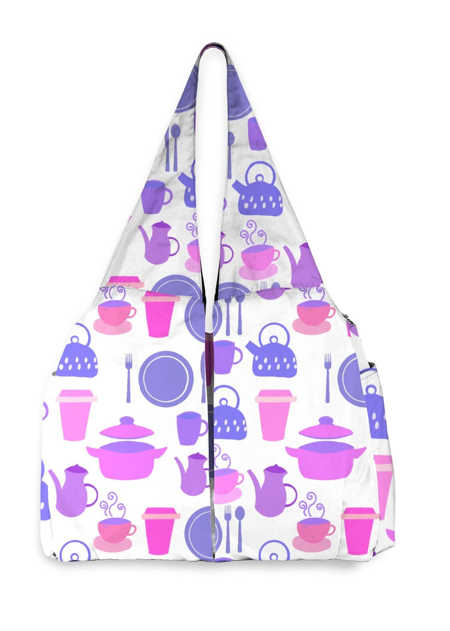 VIDA Studio Bag - Kitchen Equipment (White) by VIDA Original Artist  - Size: One Size