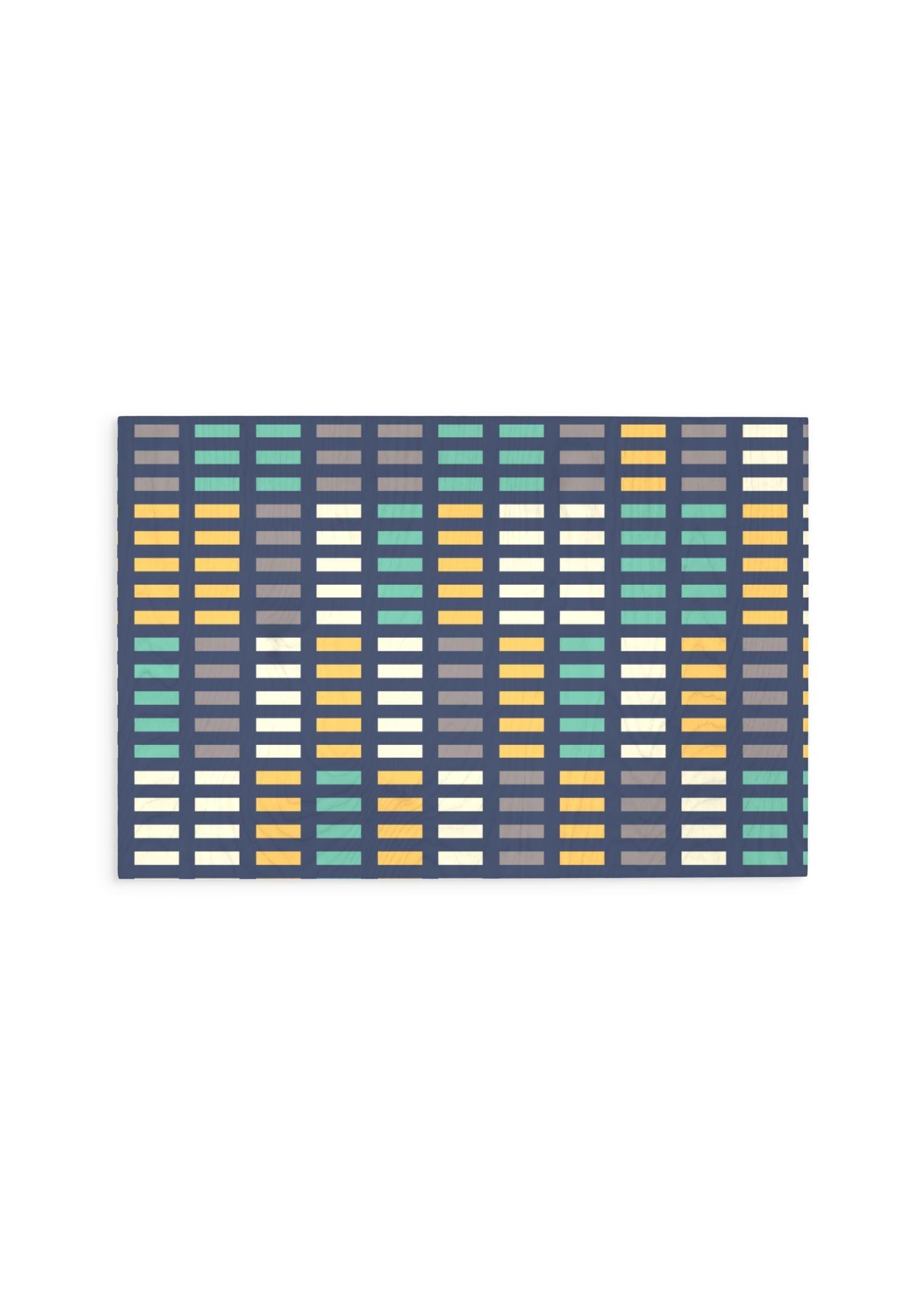 VIDA Wood Wall Art - 30x20 - Music Equalizer by VIDA Original Artist  - Size: Large